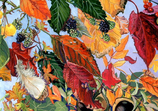 Rose Horspool - A Year on a Country Walk (October)