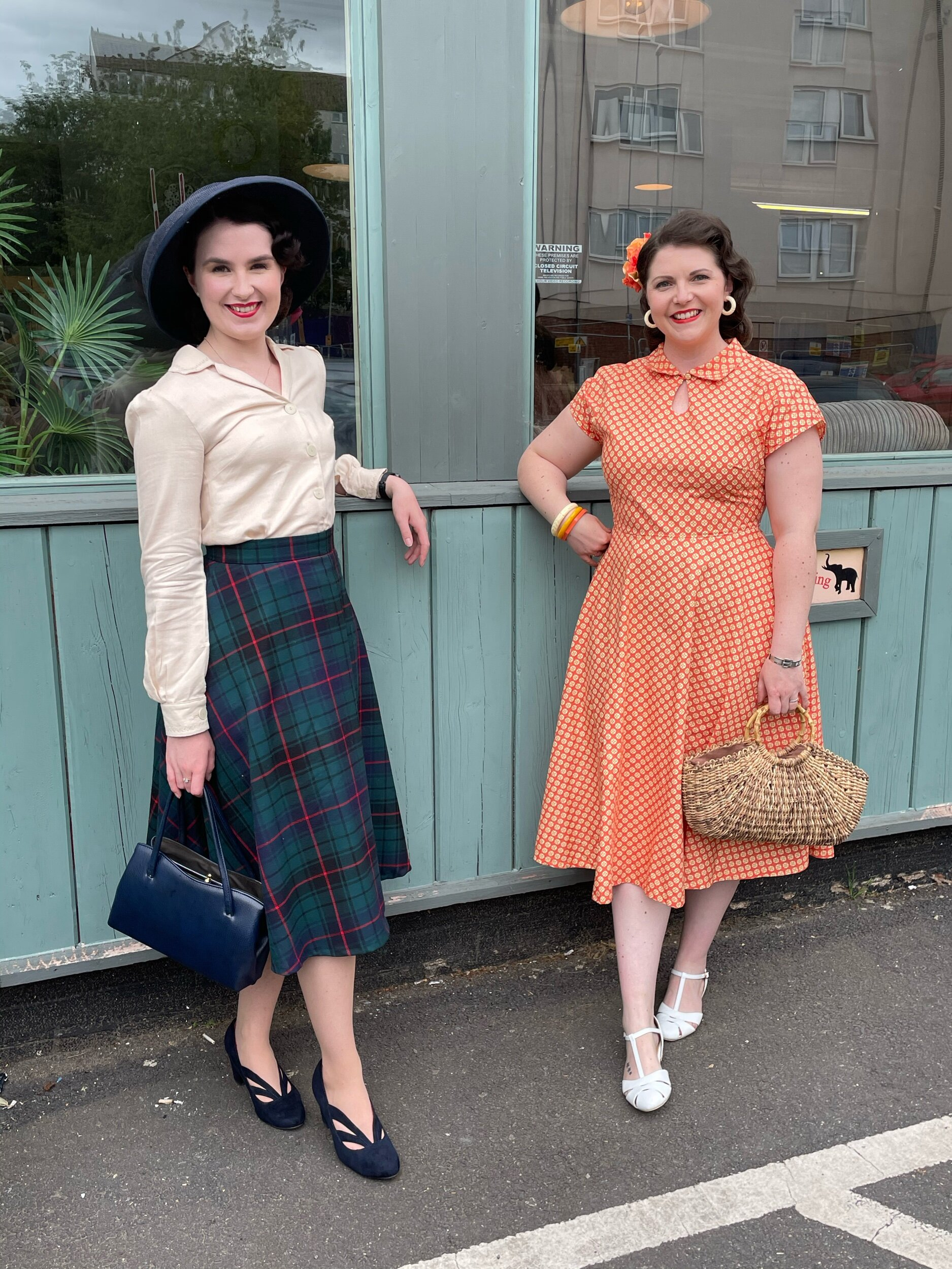 We had the pleasure of meeting Ellen at The Vintage Retreat in Northampton last month, she wears her bespoke family name tartan 'Rosie' skirt and 'Lillias' blouse.