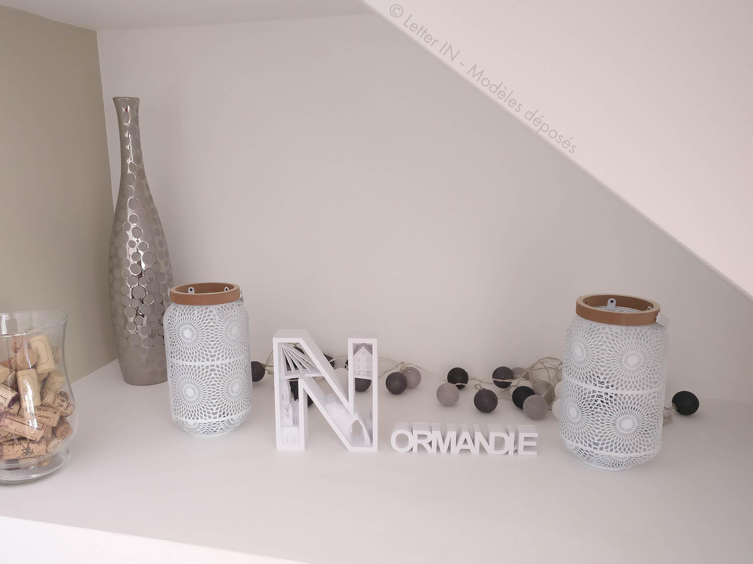 Normandie blanc niche