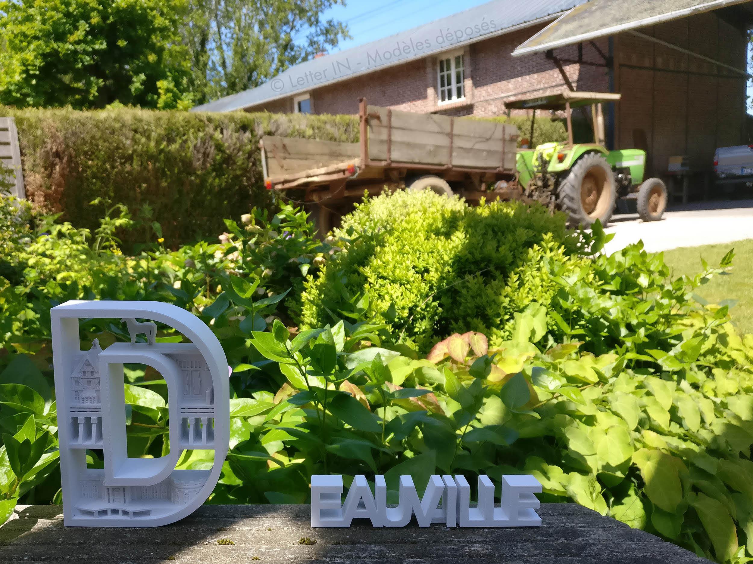 Deauville blanc jardin