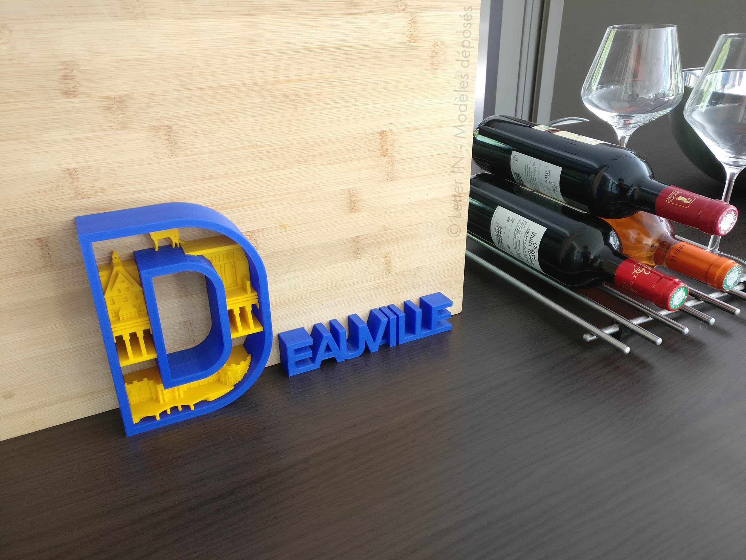Deauville bleu et jaune cuisine