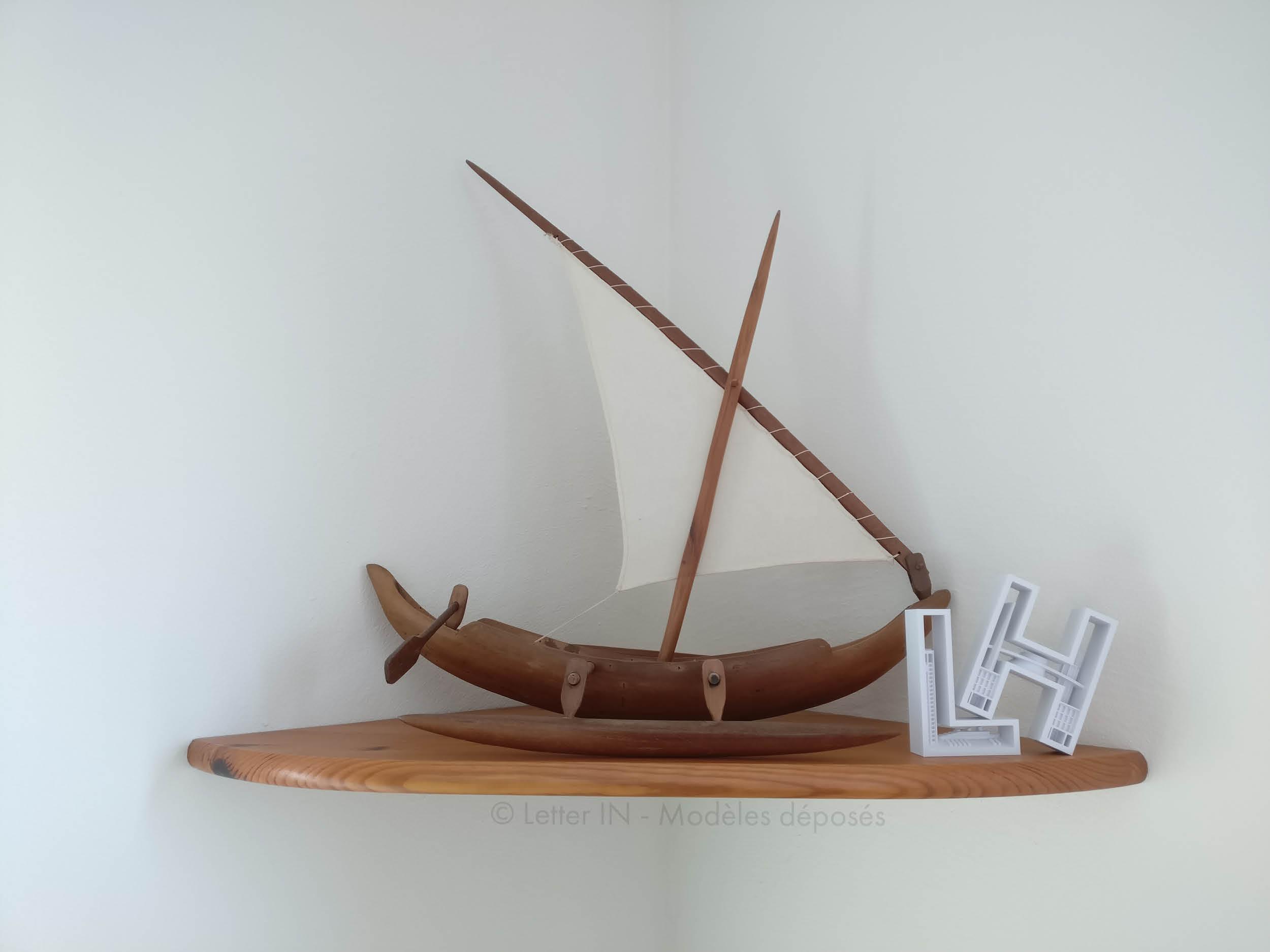 Le havre blanc bateau