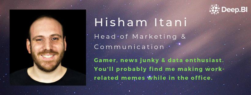 Hisham Itani - Head of Marketing & Communication