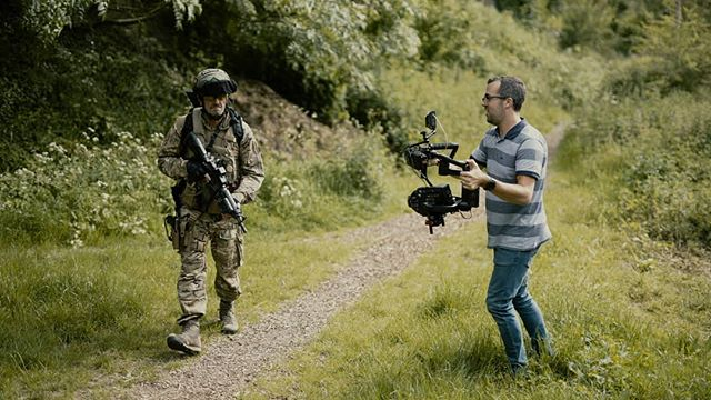 Using the URSA Mini Pro on the Ronin-M with Blackmagic Video Assist - dream combo if a little on the heavy side!