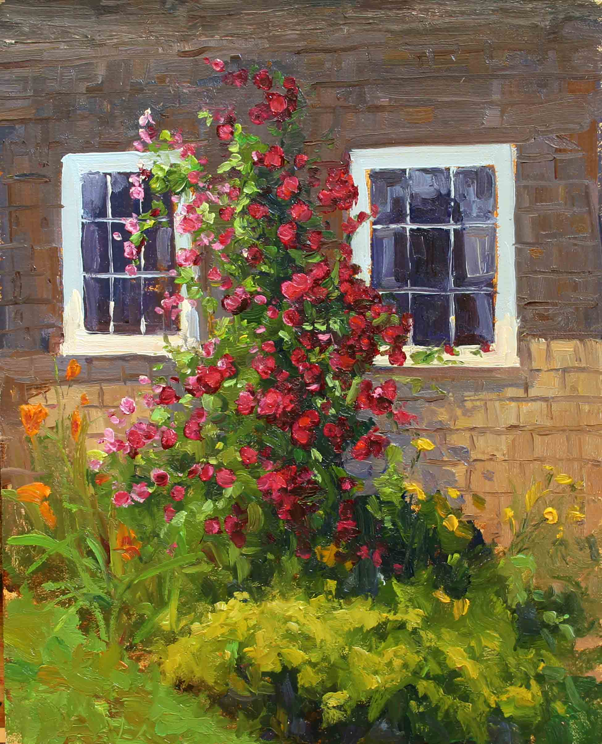 Cottage Roses
