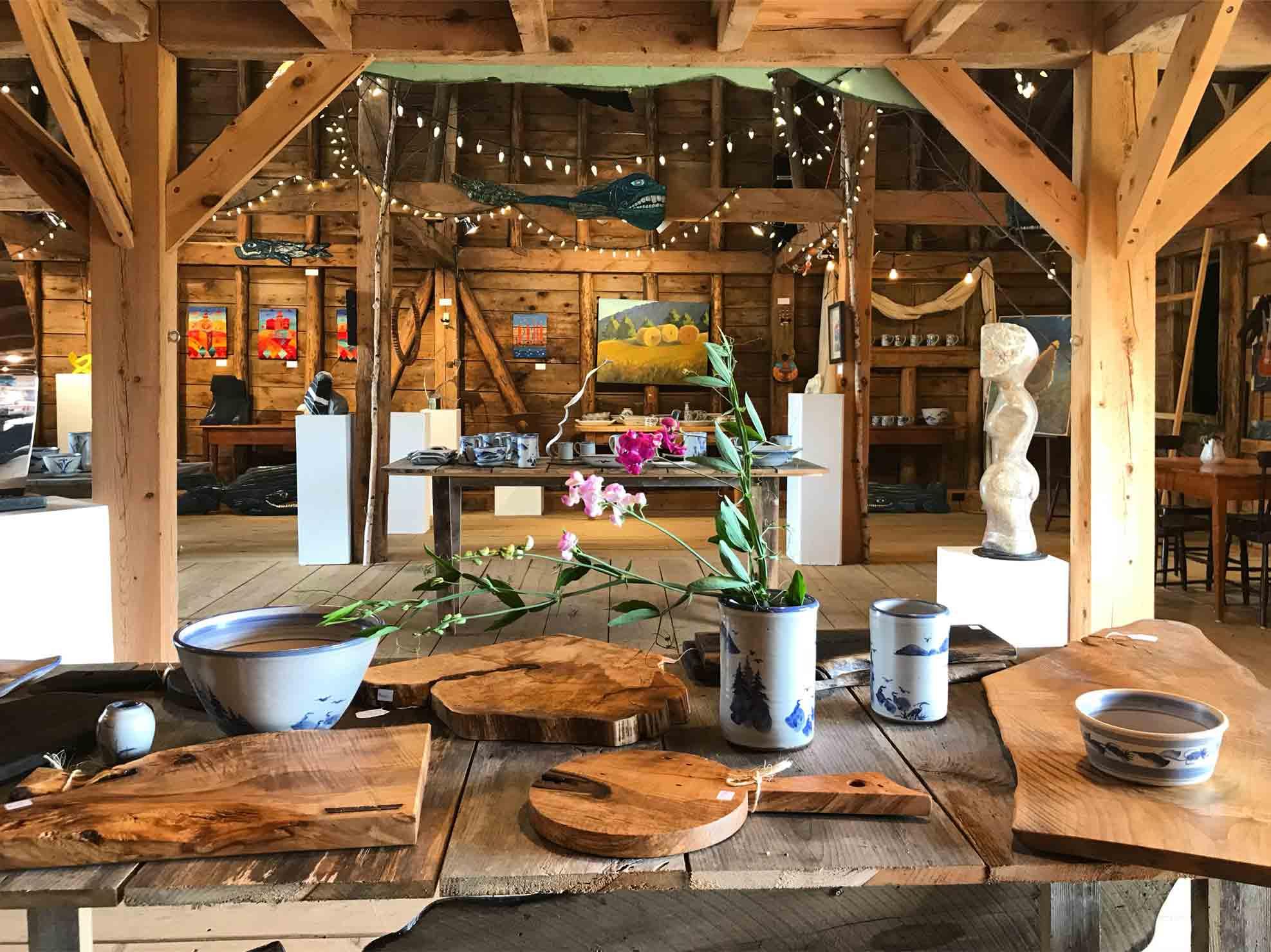 The Barn. -