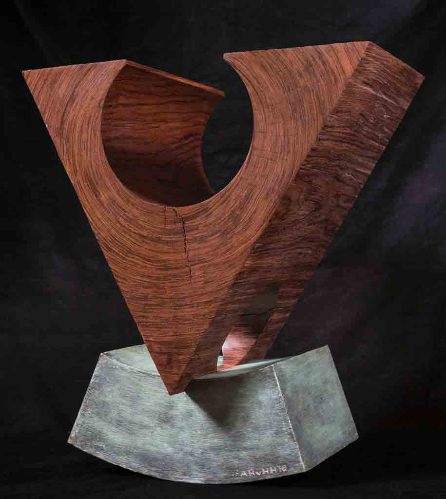 VO (Bubinga wood on Bronze) $9,000