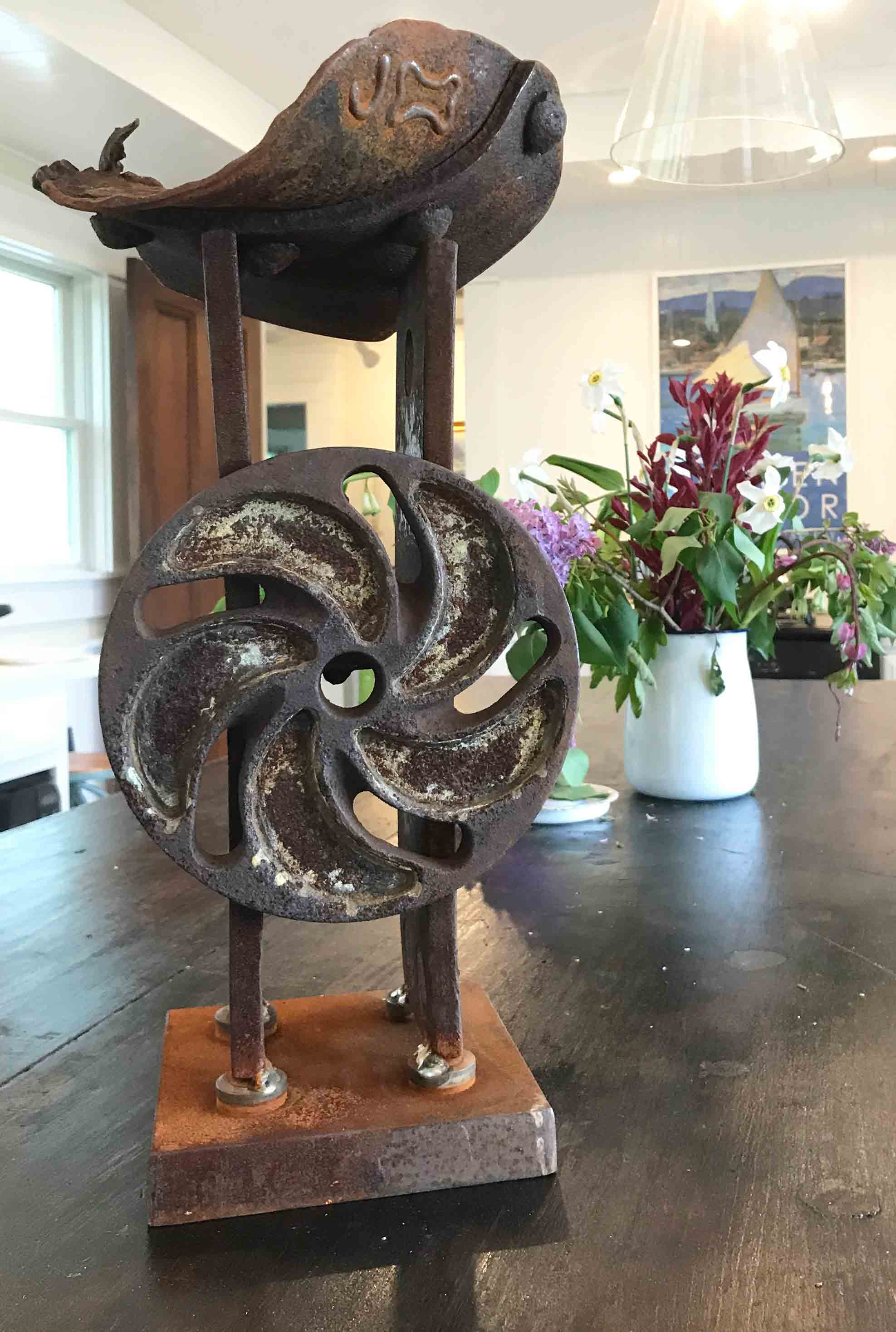 Untitled, Steel by Jay Sawyer $1,200