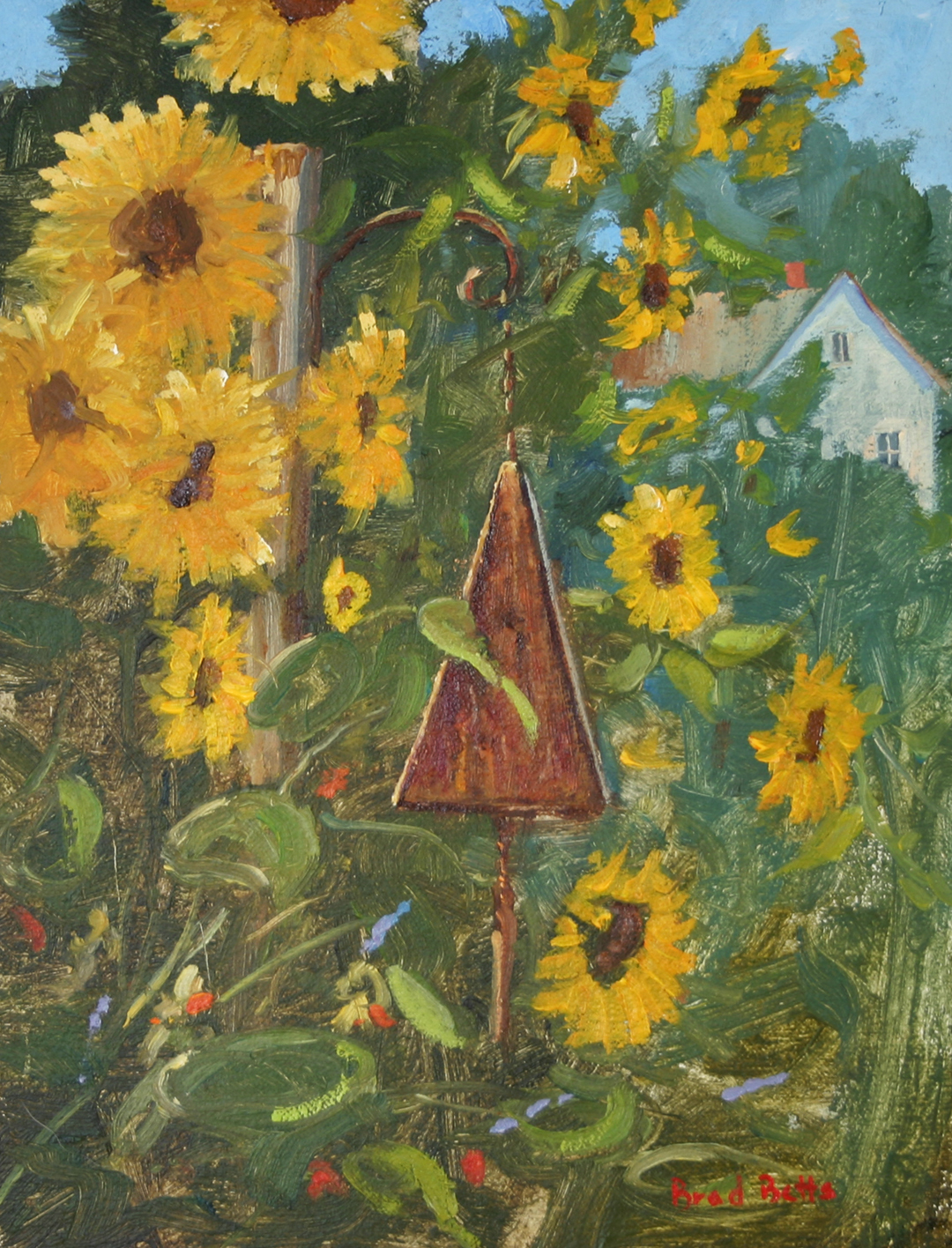 Sunflowers and Buoy Bell.jpg