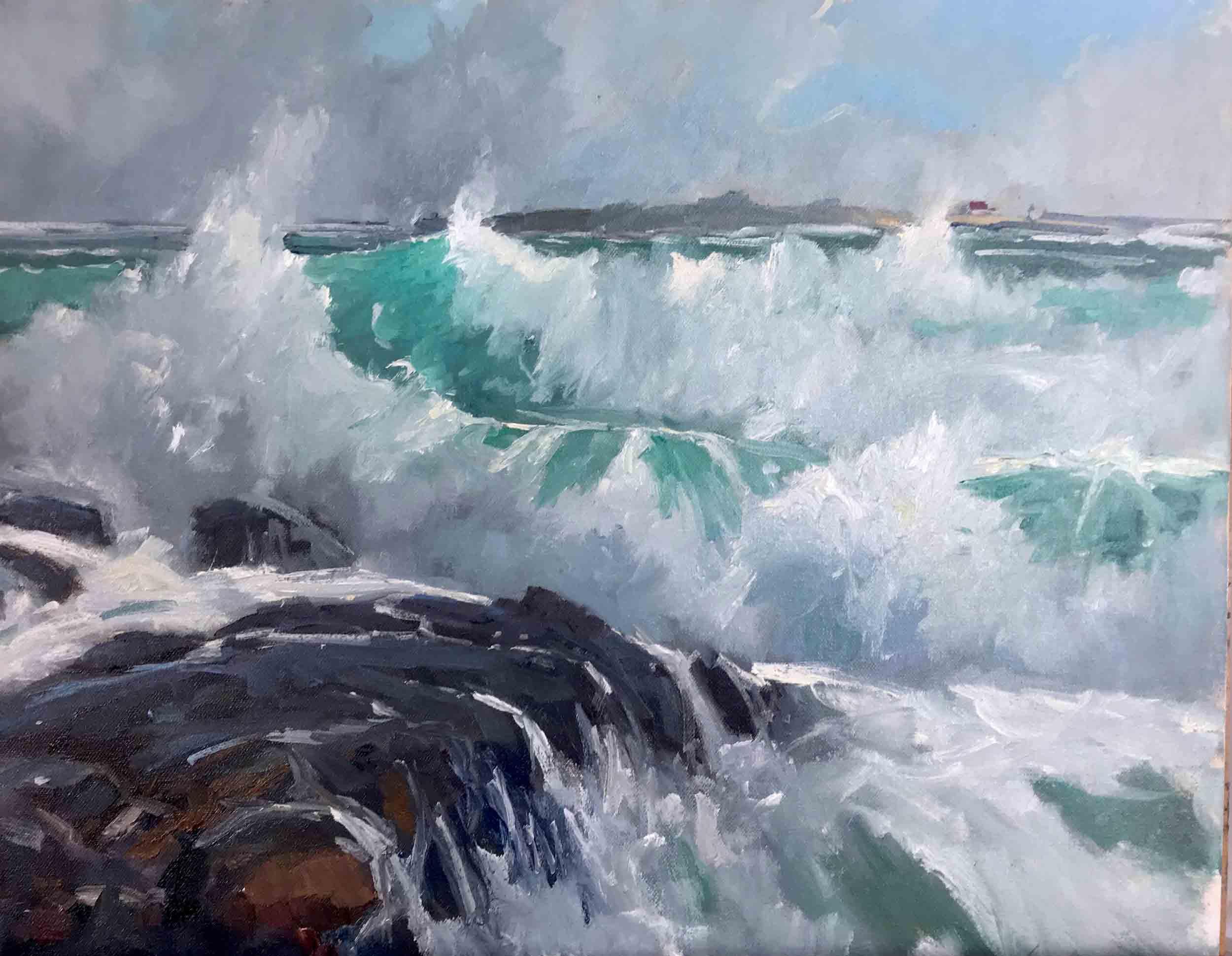 Surf III, 16x20, $3,800