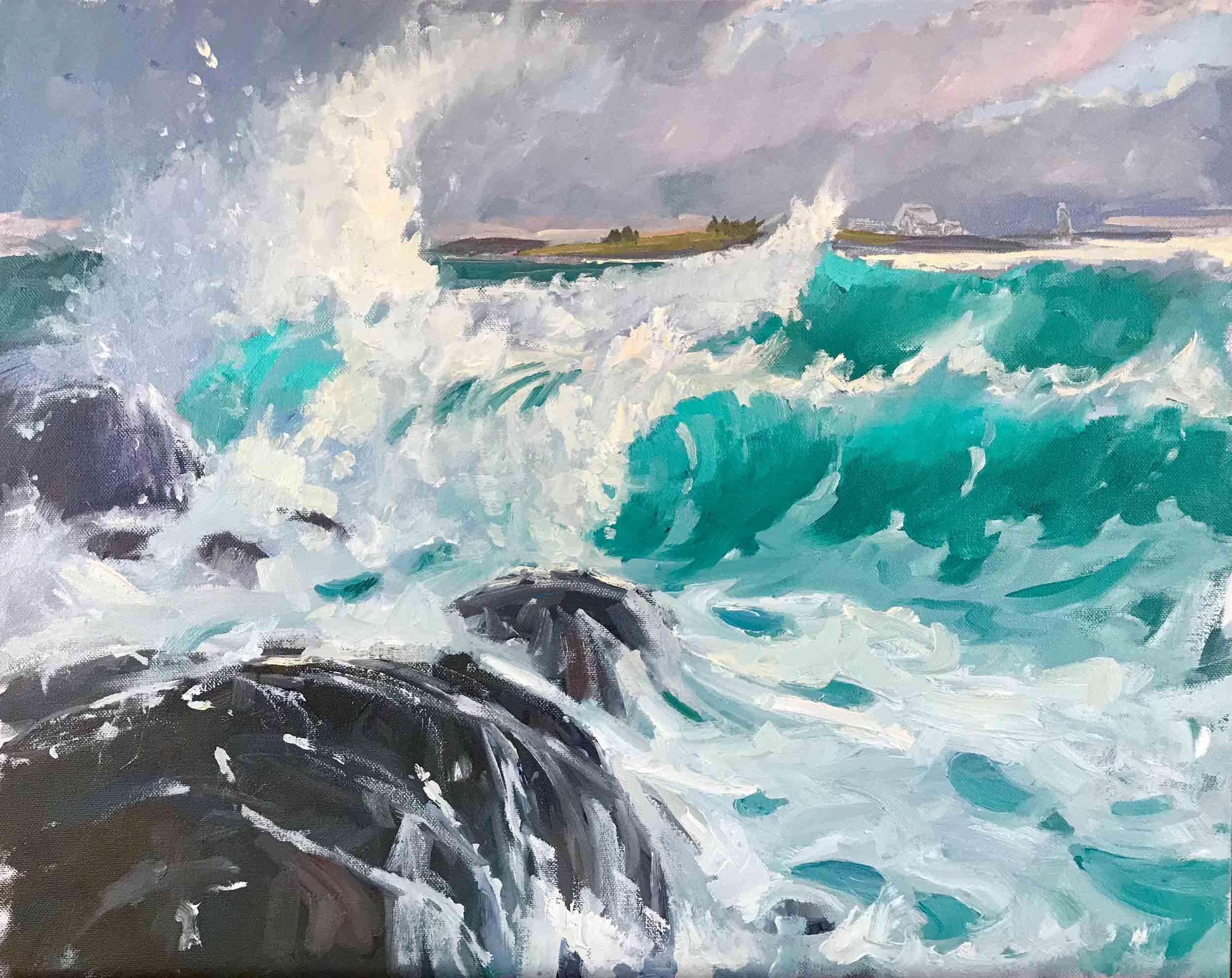 Surf II, 16x20, $3,800