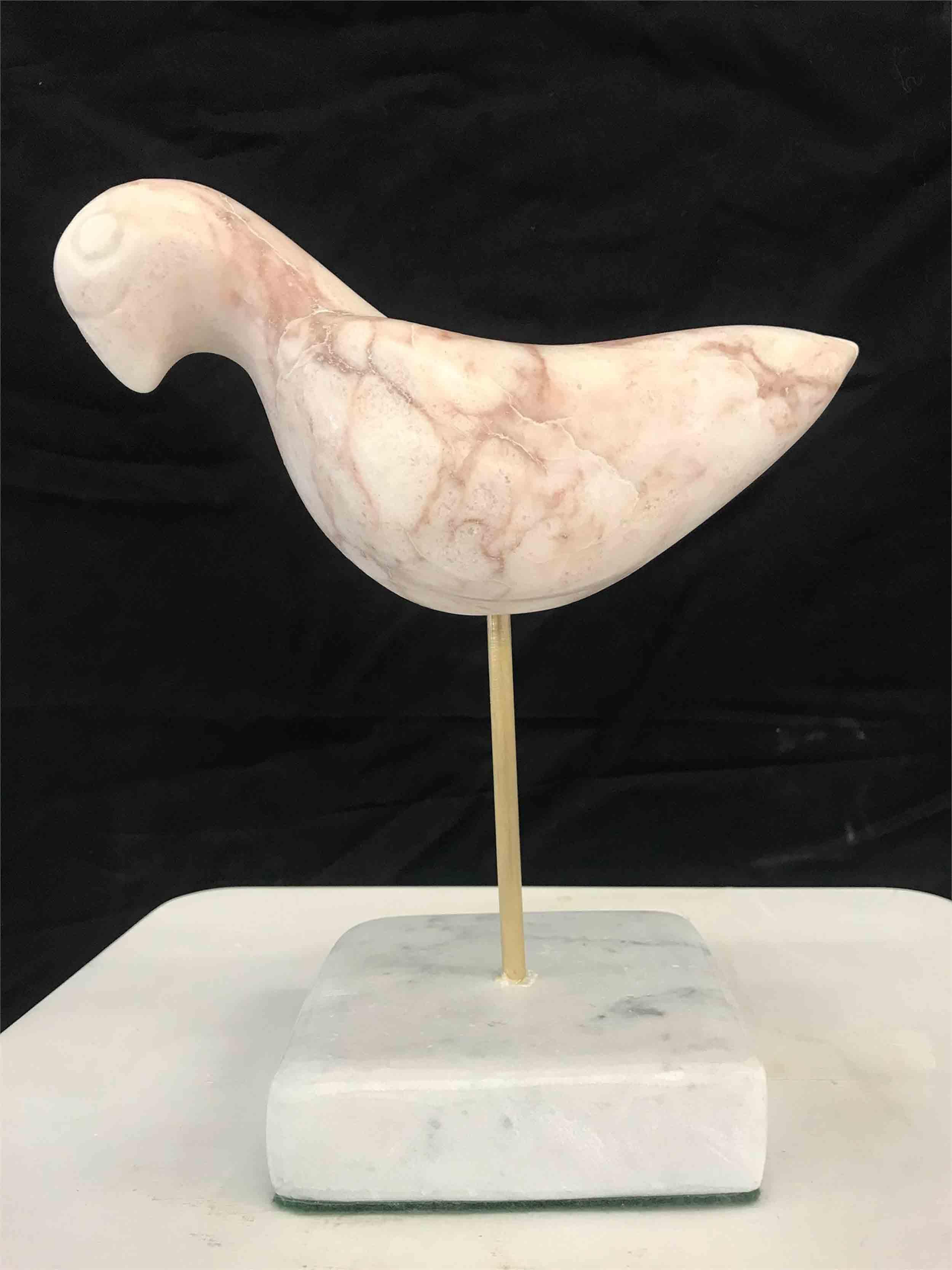Pink Peaceful Bird, $875
