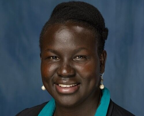 """LINDA JAMES - ASSOCIATE DIRECTORLinda provides program and directional support to the Southern Sudan Healthcare Organization (SSHCO), an organization that runs a clinic in a remote area of the country. Linda is a native South Sudanese and came to the US as a refugee in 1994. She is currently an Instructional Designer for the University of Florida.She has worked on a USAID-funded project advising the government on state-related issues of governance and is very well-connected. Linda previously co-hosted a show on Africa Network Television called """"Africa 3000"""" focusing on Africa's development issues and the foreseeable future of its economy. She loves the arts and it's ability to transform culture."""