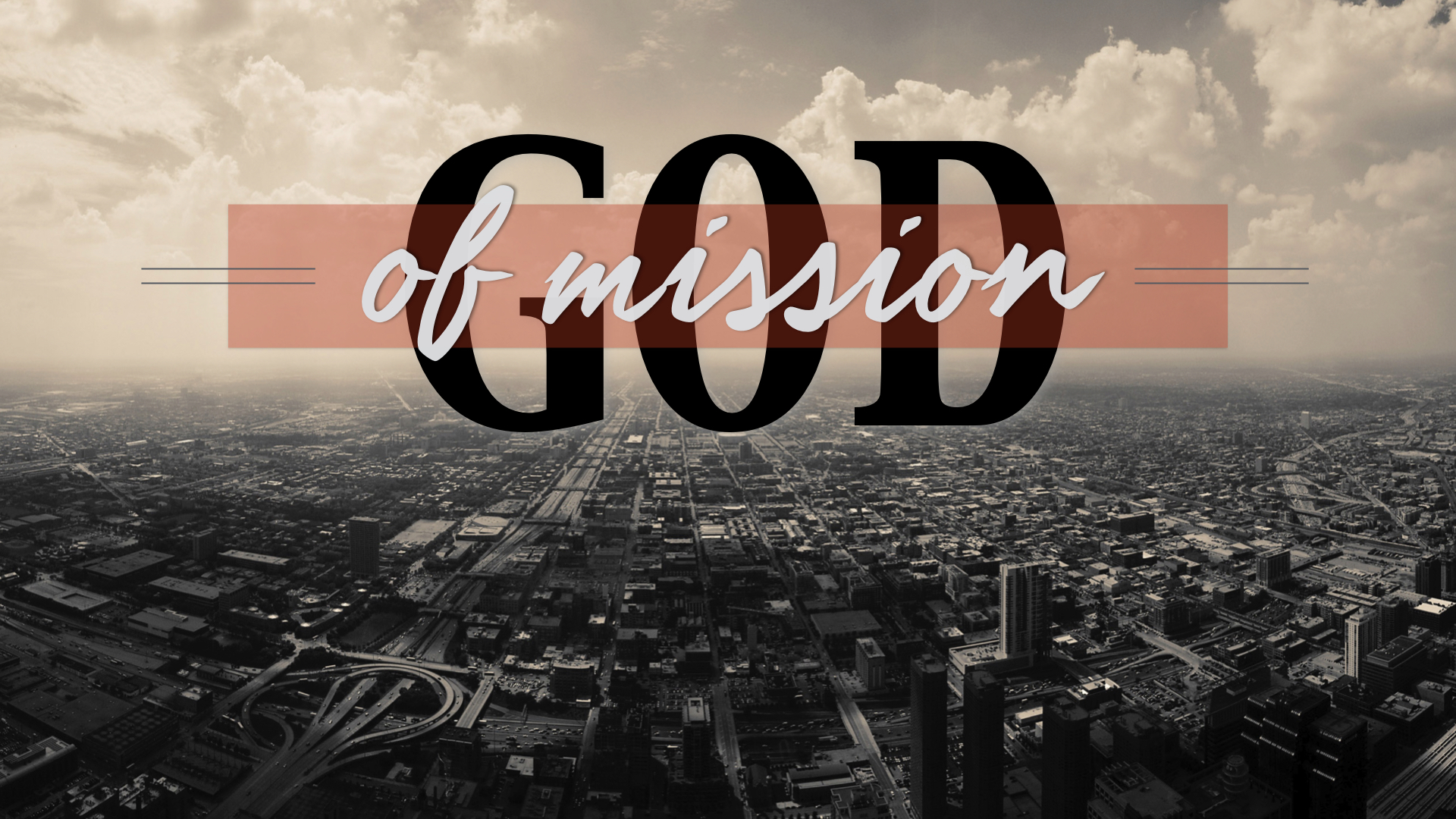 GOD OF MISSION - THOMAS MCKELLICK | 9.2.2019 | WATCH