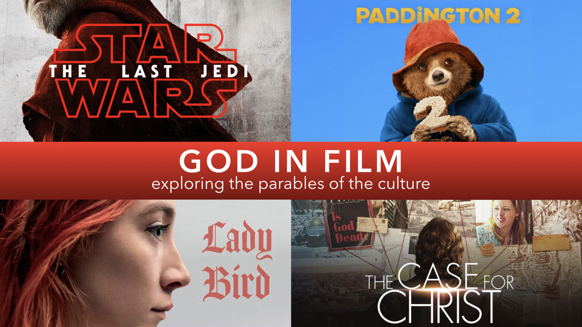 GOD IN FILM 2018 | PADDINGTON 2: CHANGE YOUR ENVIRONMENT - PHIL CHORLIAN | 8.12.2018 | WATCH