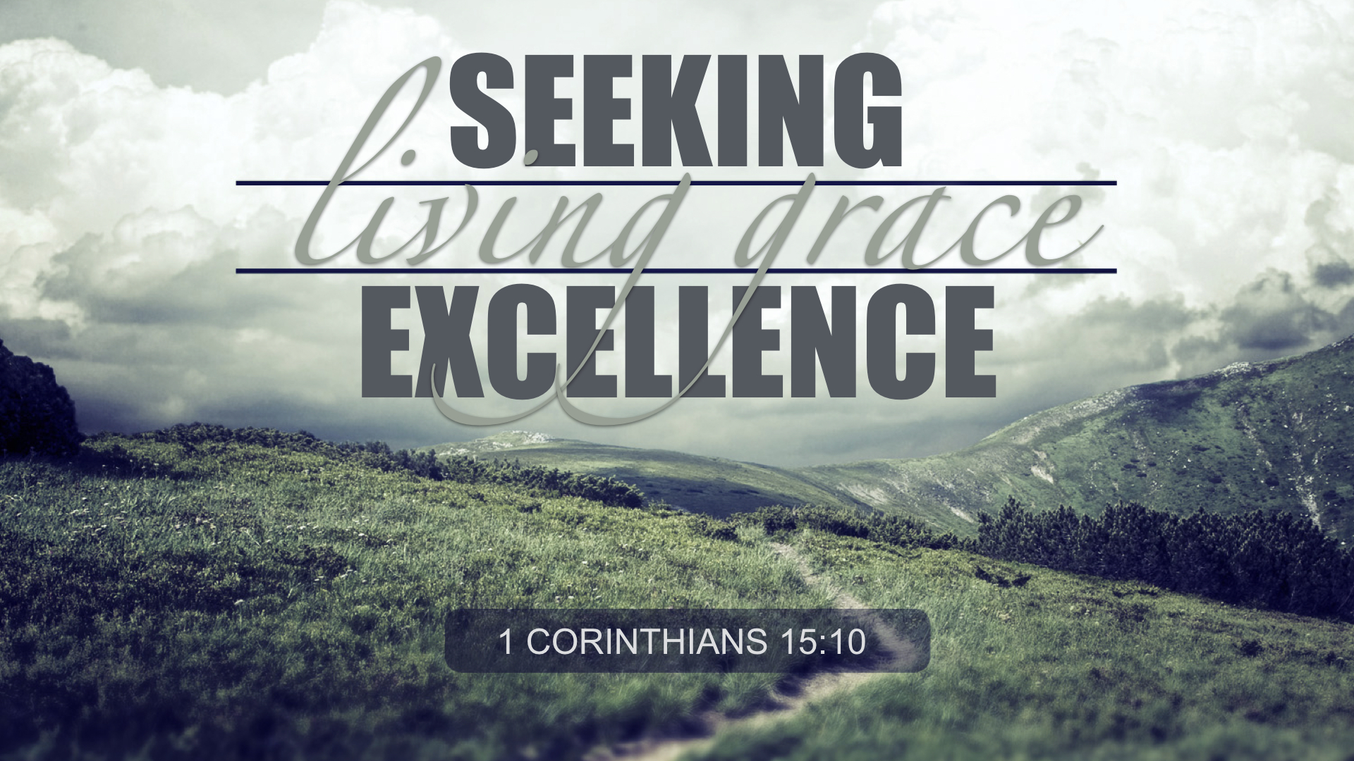 seeking excellence, living grace - MARY ANNE DE LA TORRE | 5.27.2018 | WATCH