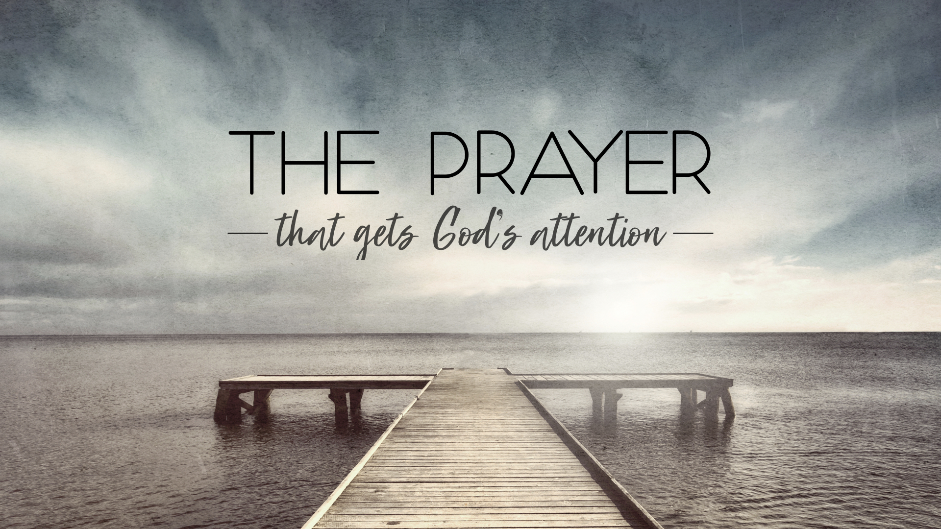 THE PRAYER THAT GETS GOD'S ATTENTION - GRIMALDI MARTINEZ | 4.15.2018 | WATCH
