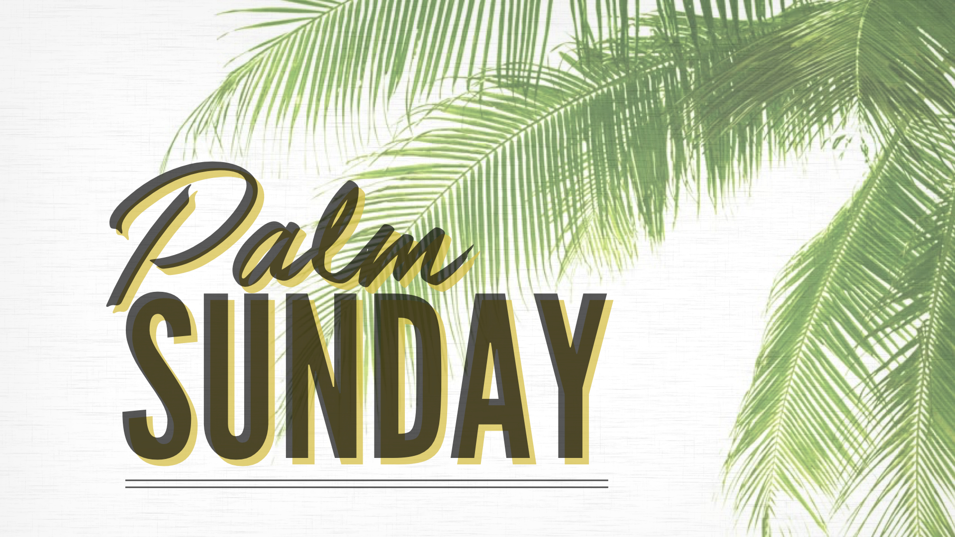 Jesus the King [Palm Sunday] - PHIL CHORLIAN | 4.14.2019 | WATCH | LISTEN