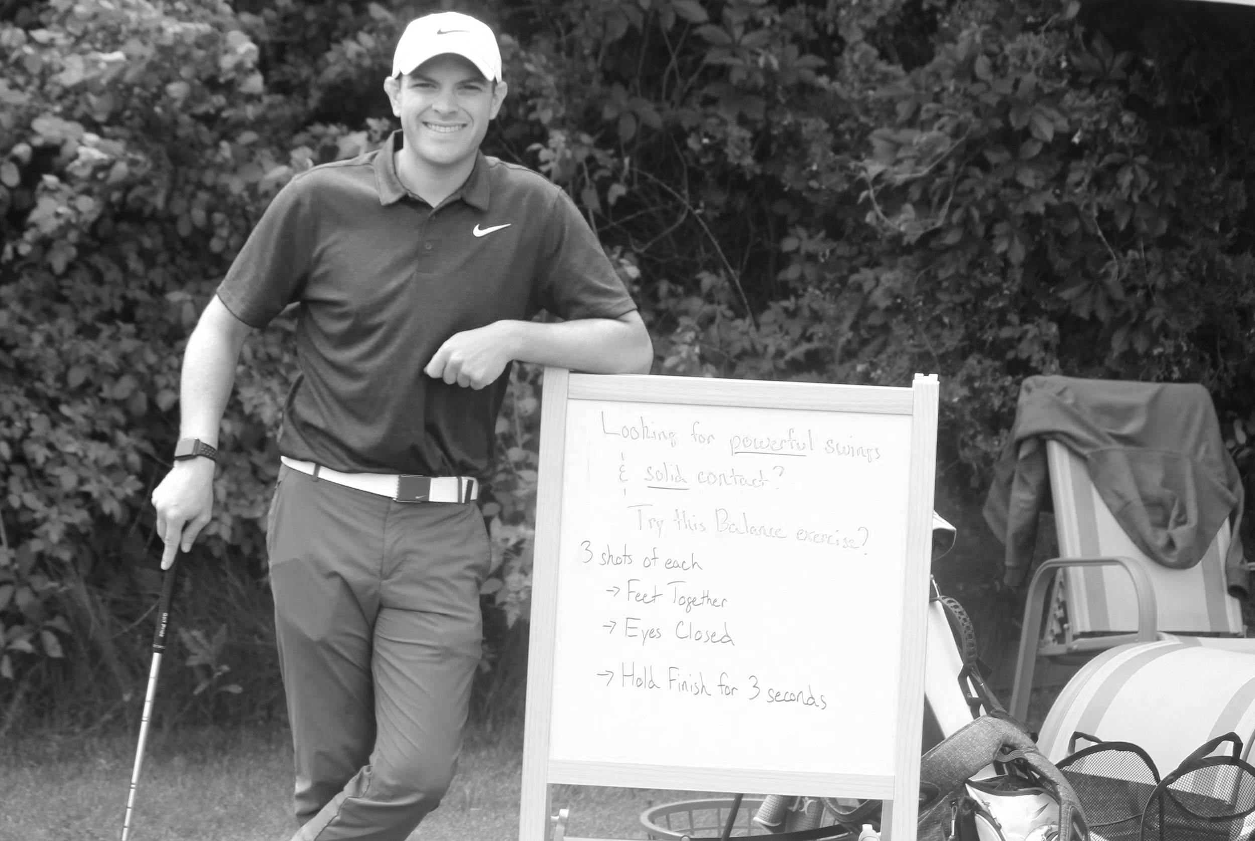 About Coach Zach - Zach Theut is a young and passionate golf coach that focuses on helping players shoot lower scores and enjoy their time out on the golf course.