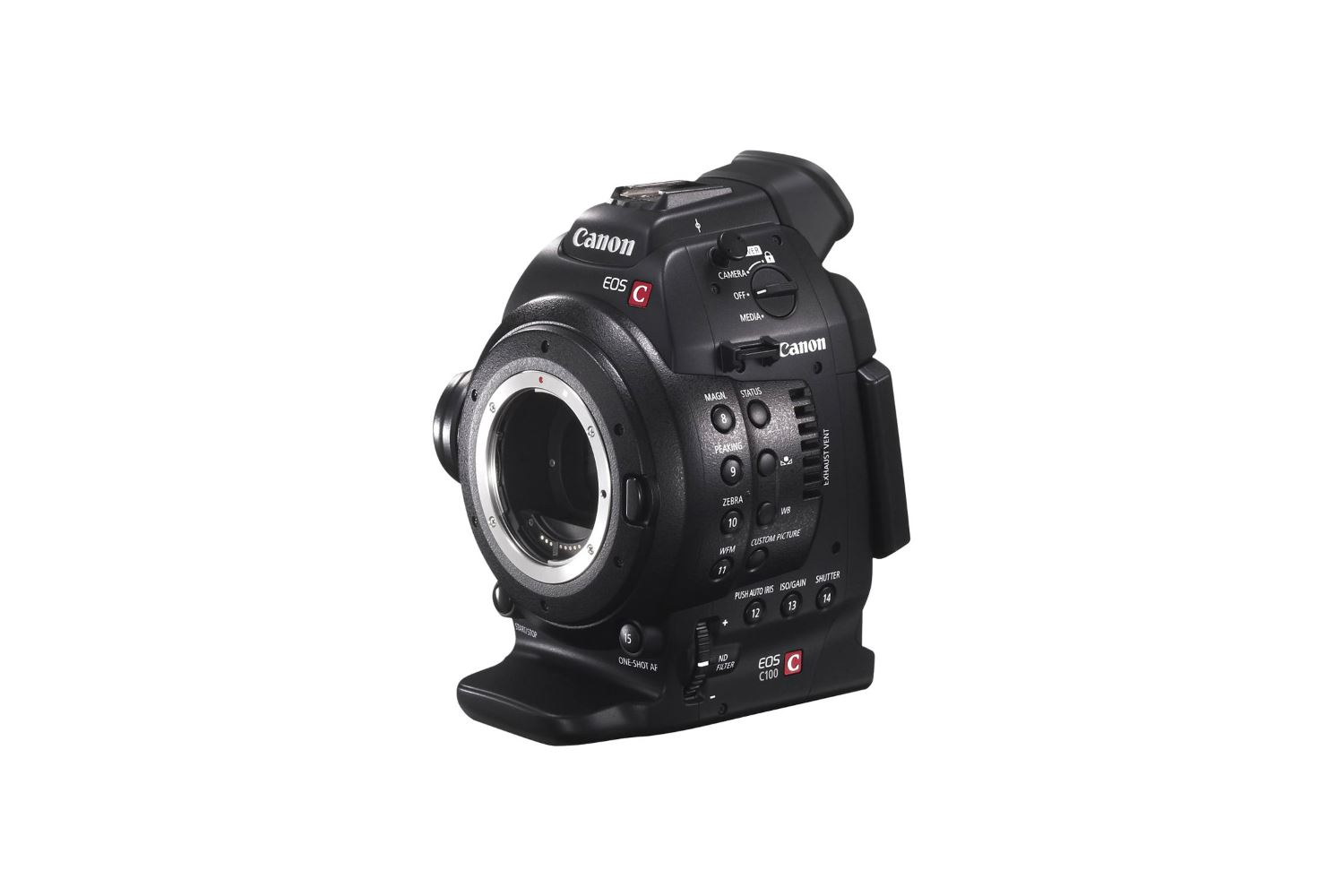 Canon C100 - 80 EUR/day, 250 EUR/week