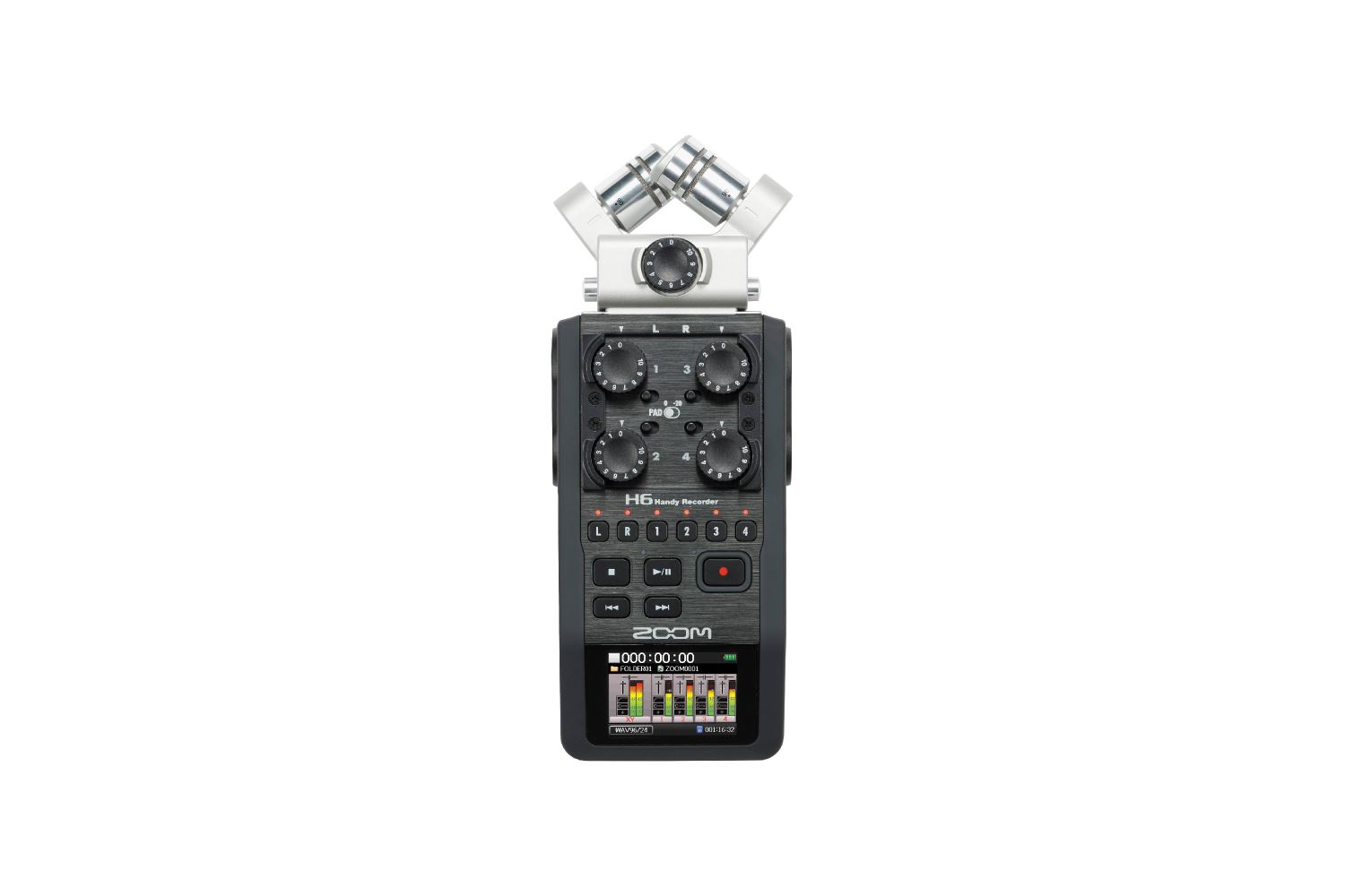 Zoom H6 Recorder - 20 EUR/day