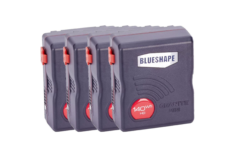 Blueshape Granite Mini V-Mount Battery 4 Piece Set - 100 EUR/day, 300 EUR/week