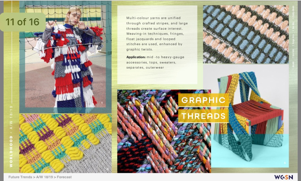 WGSN trends…. - Worldhood WGSN trends for 2017-18