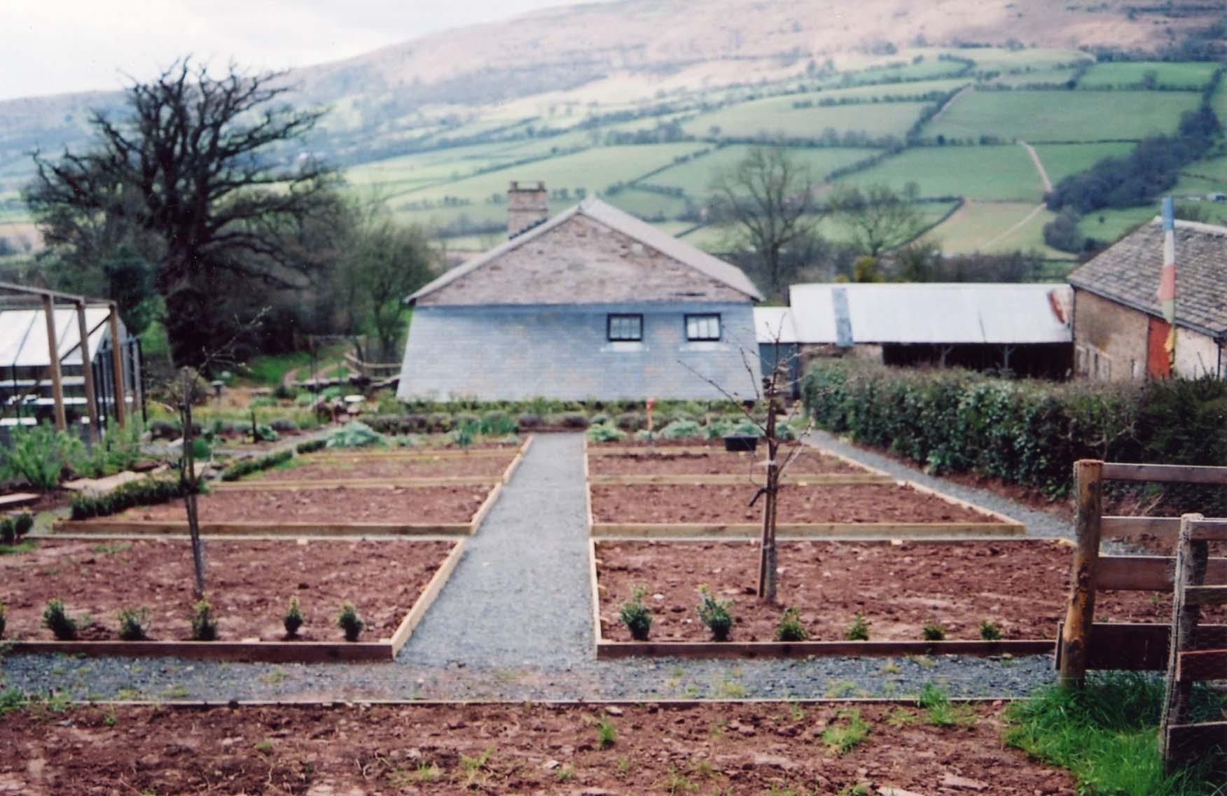 Vegetable garden 2005