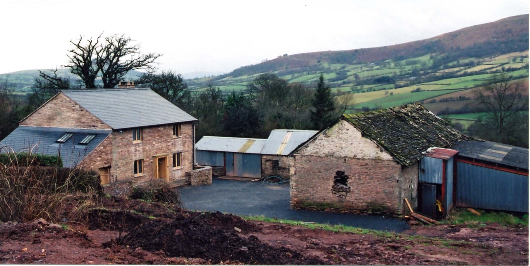 Site before the garden was started (2003)