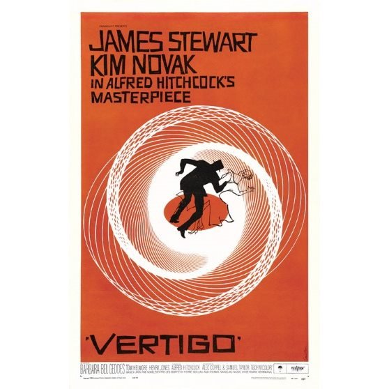 Vertigo (series) - Vertigo is a series of generative compositions inspired on the works of Saul Bass, in particular the movie covers of Vertigo (1958), directed by Alfred Hitchcock. Saul was the master of movie titles, and the father of
