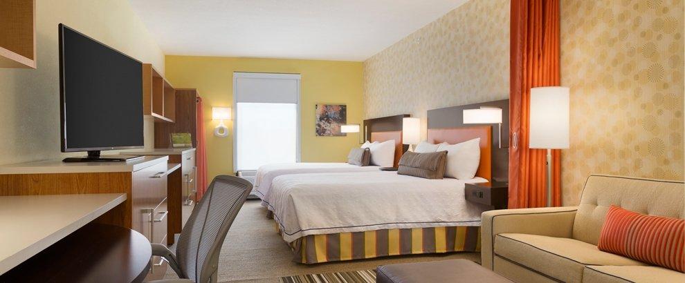 Studio Suite 2 Queen Beds