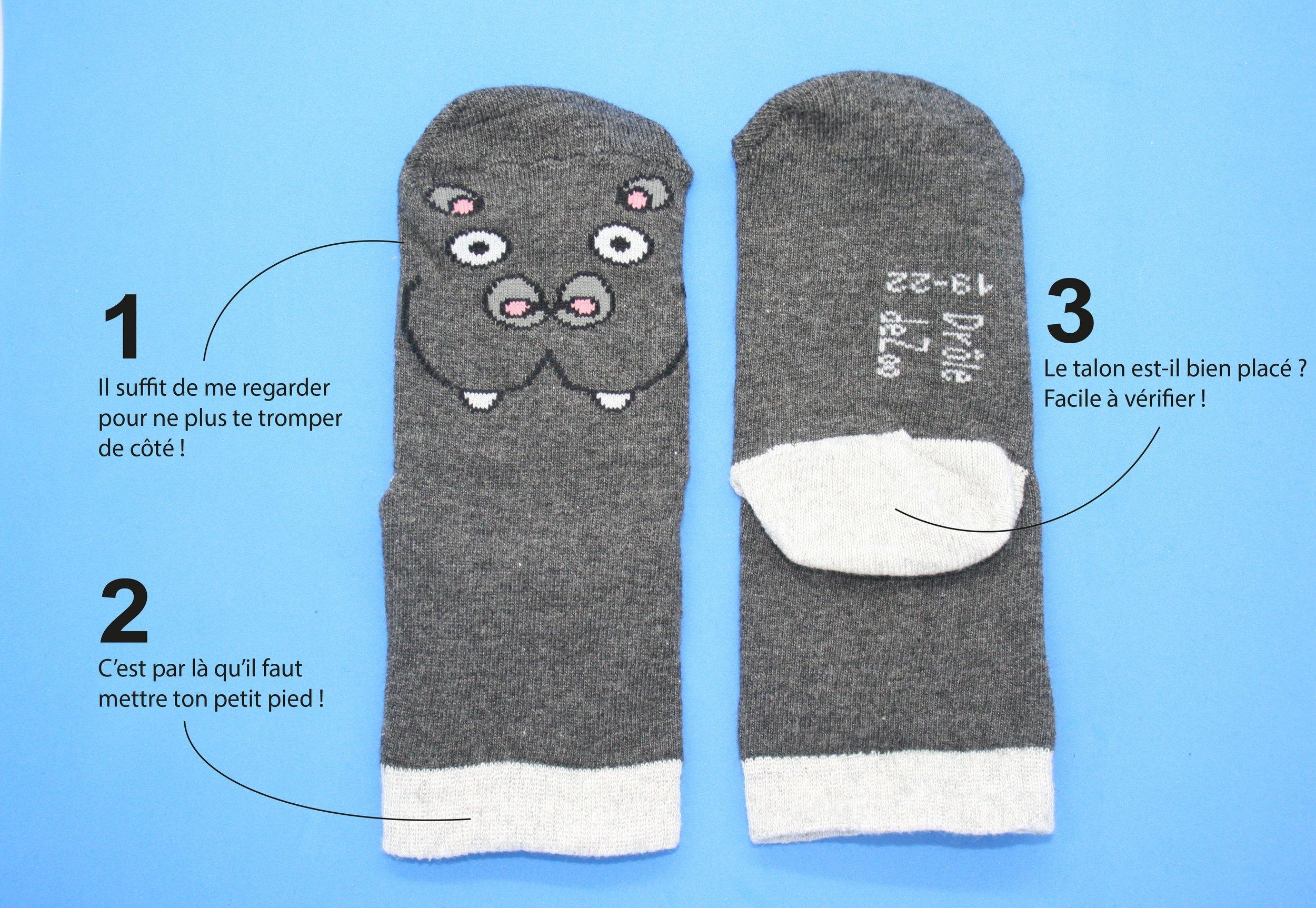 chaussettes DDZ comment ça marche