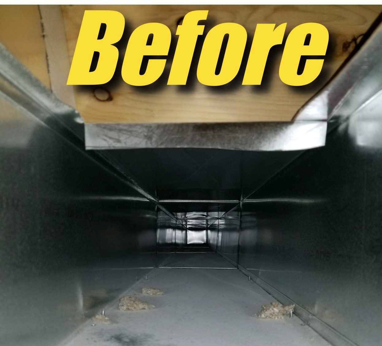 The owner showed before/after pictures to see all the drywall, construction and pet debris in our ducts and how it looked after cleaning.  Thank you for the clean air!