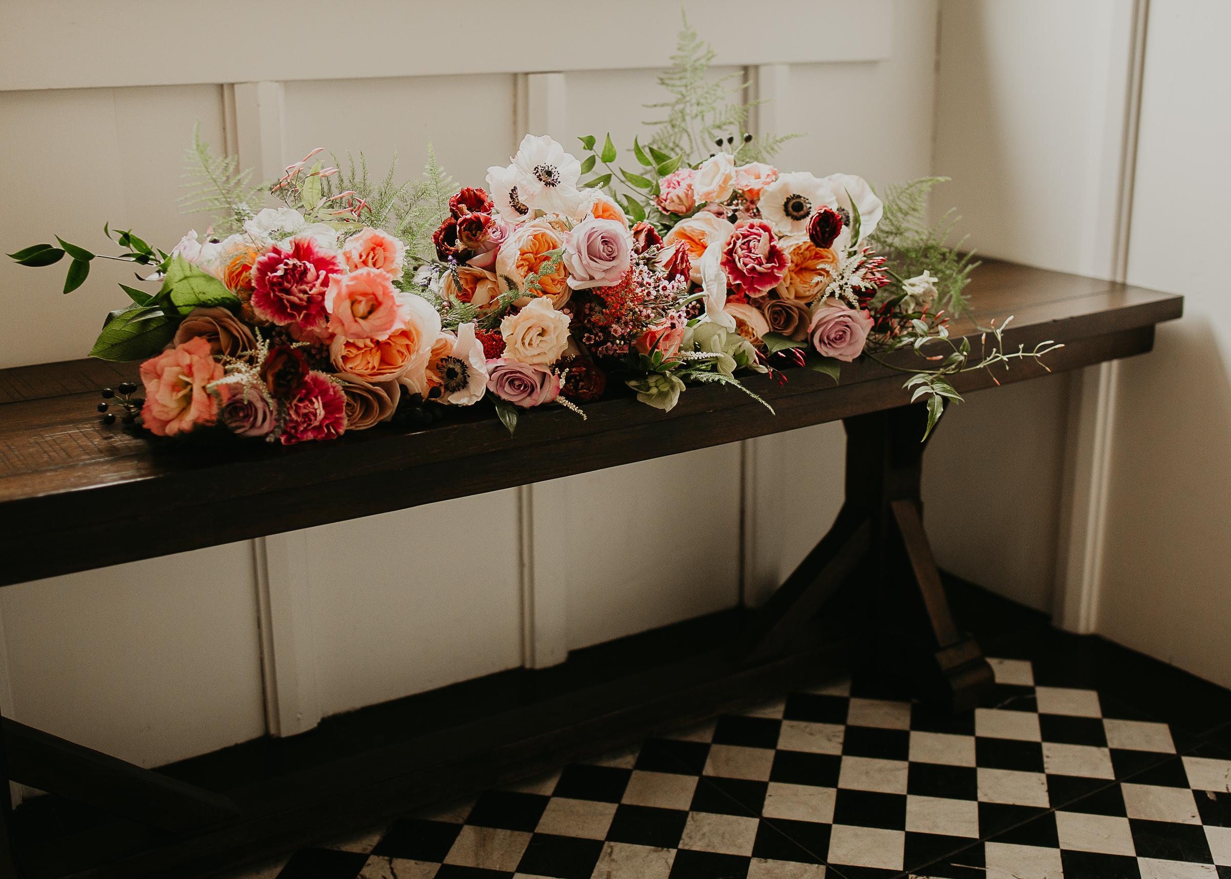 Wedding floral designer