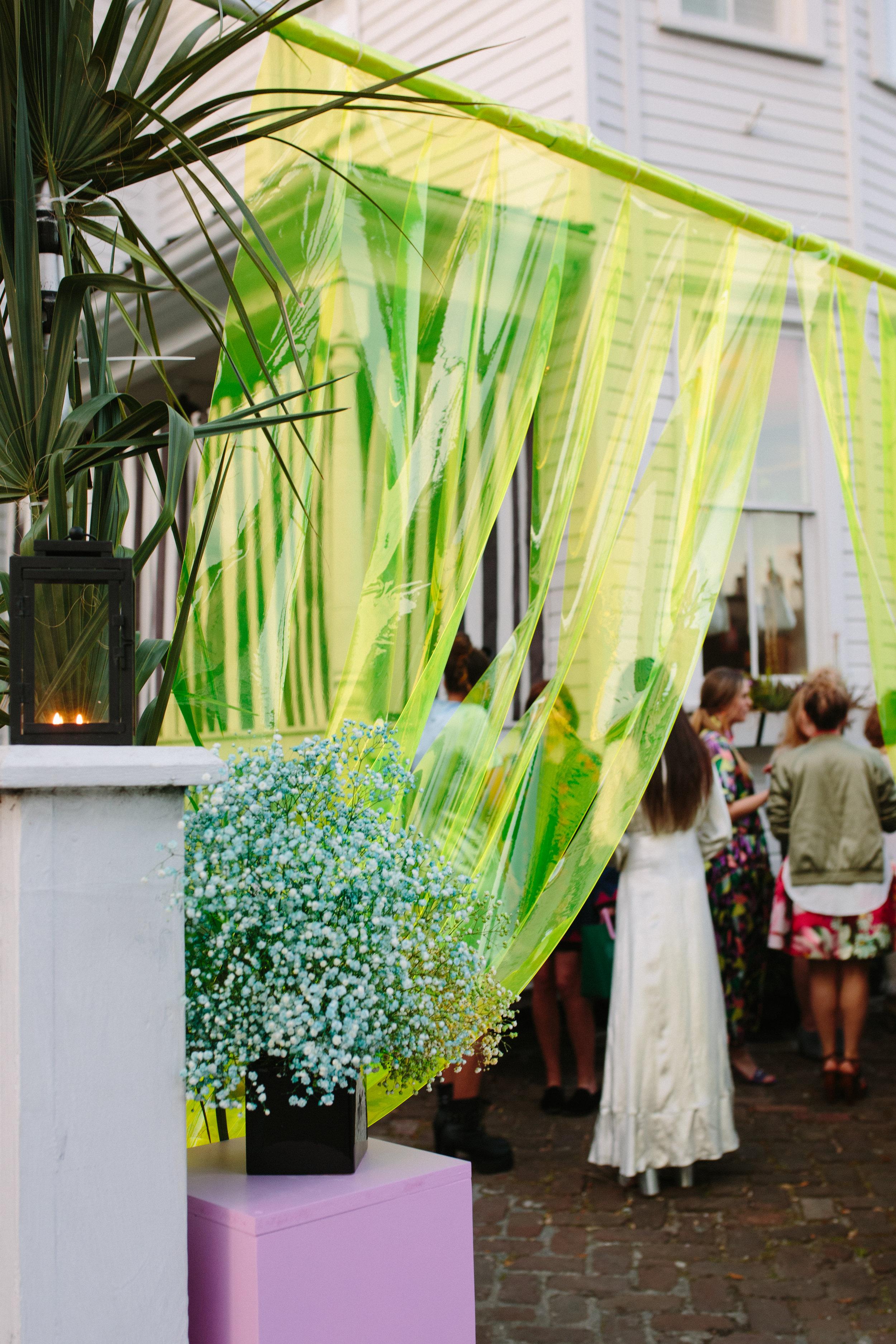 Event floral installation