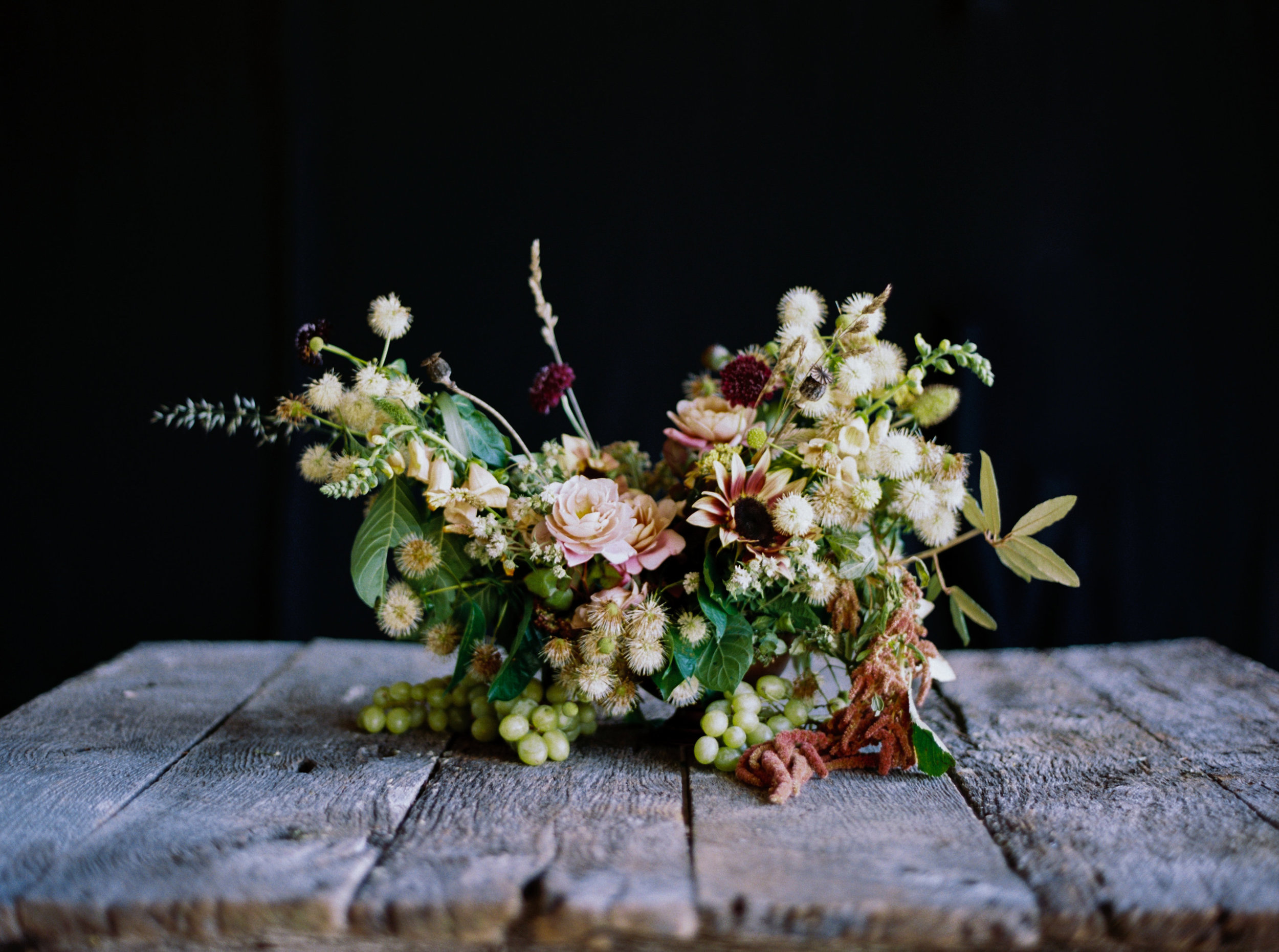 Editorial floral design