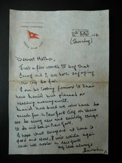 Sarah Roth letter
