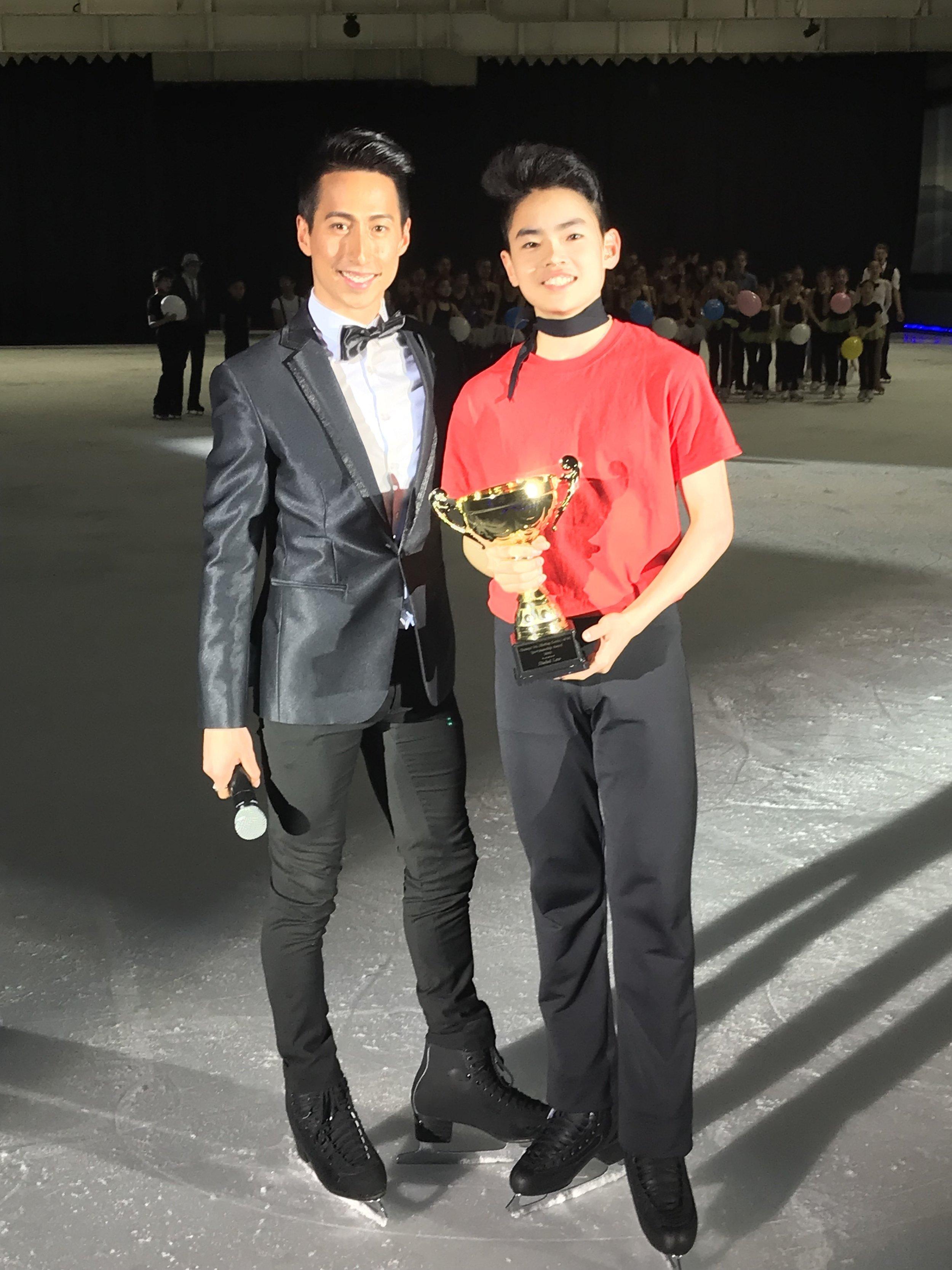 Shohei Law - 2019 Champs International Sportsmanship Award