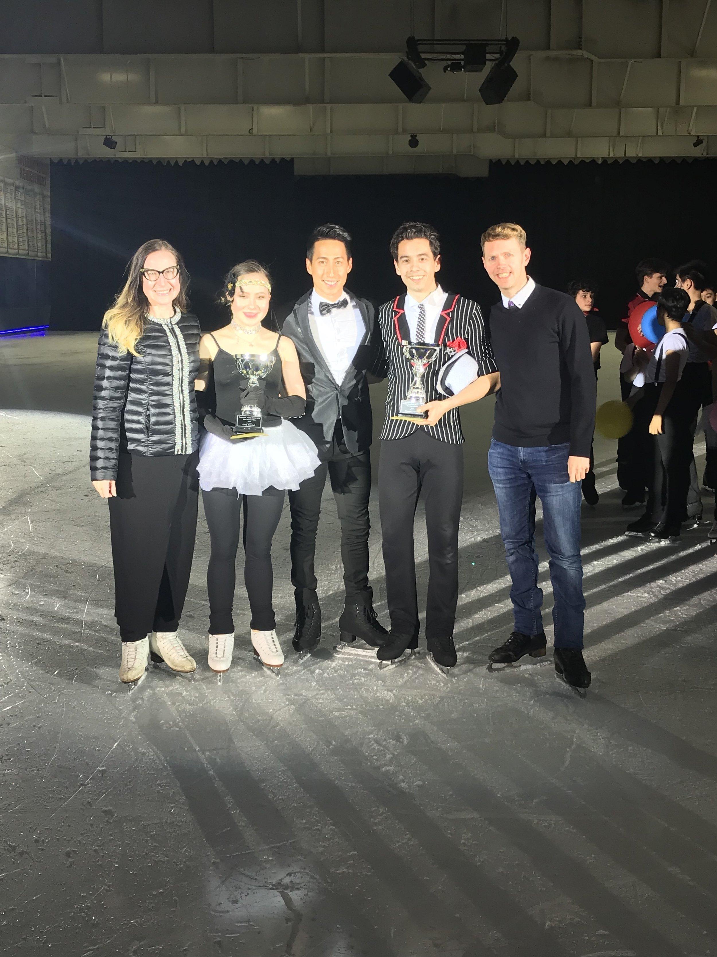 Emily Bausback & Alexander Lawrence - 2019 Champs International Most Improved Elite Skaters