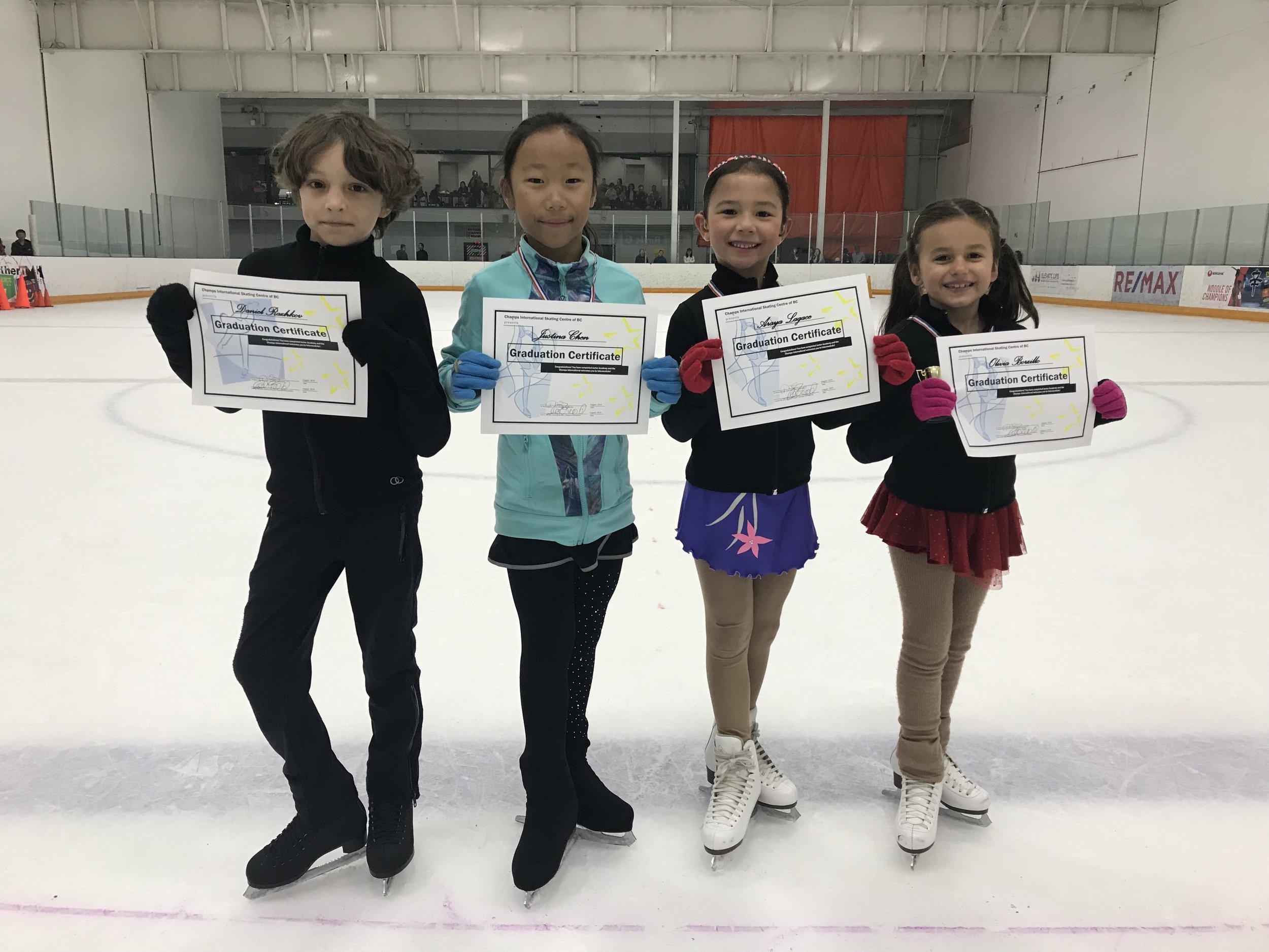 August 2019 (L: Daniel, Justina, Araya & Olivia (absent: Blaire))