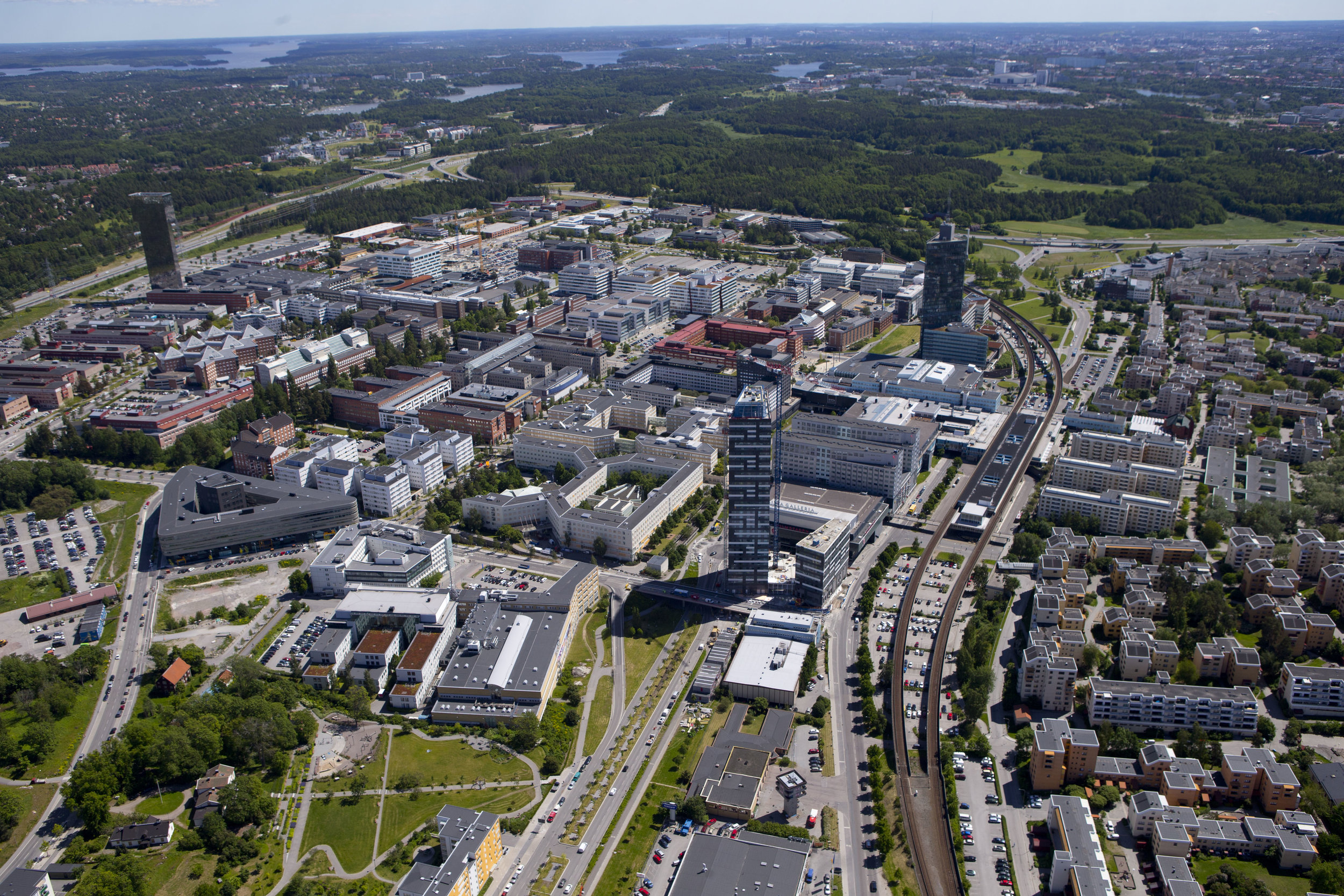 Kista Science City, located just north of Stockholm city.