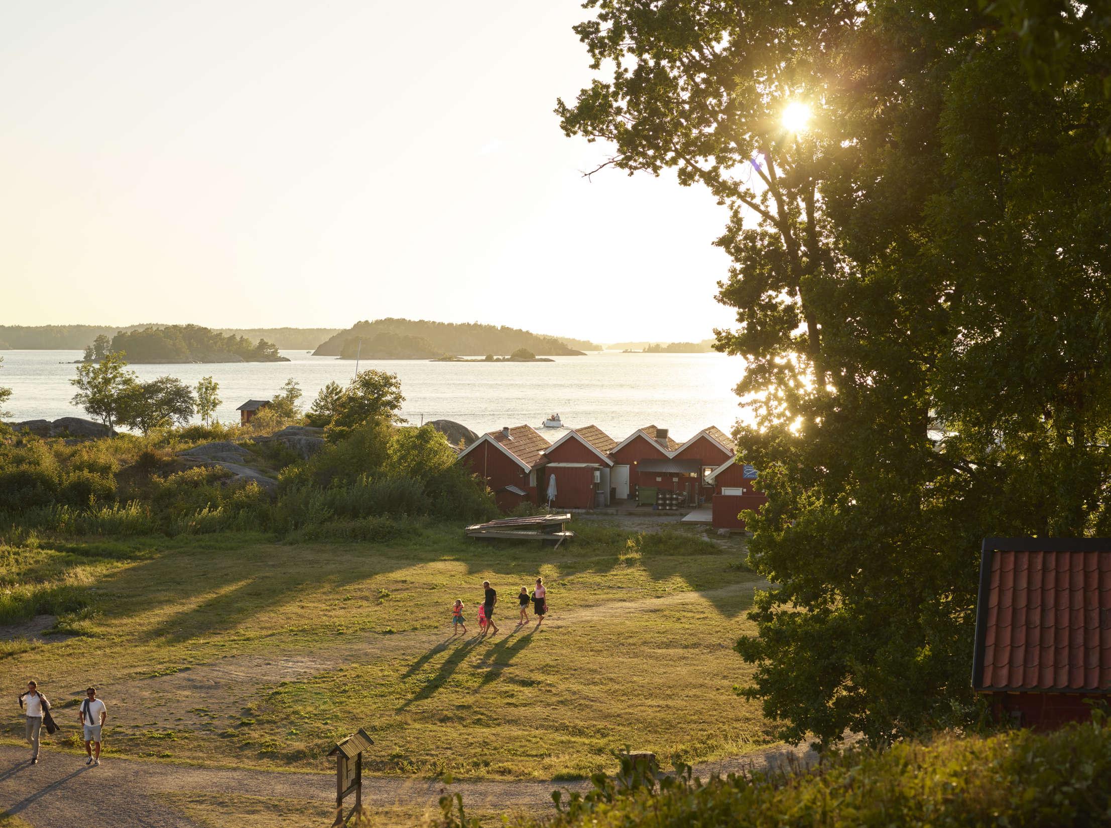 Sunset in the archipelago.
