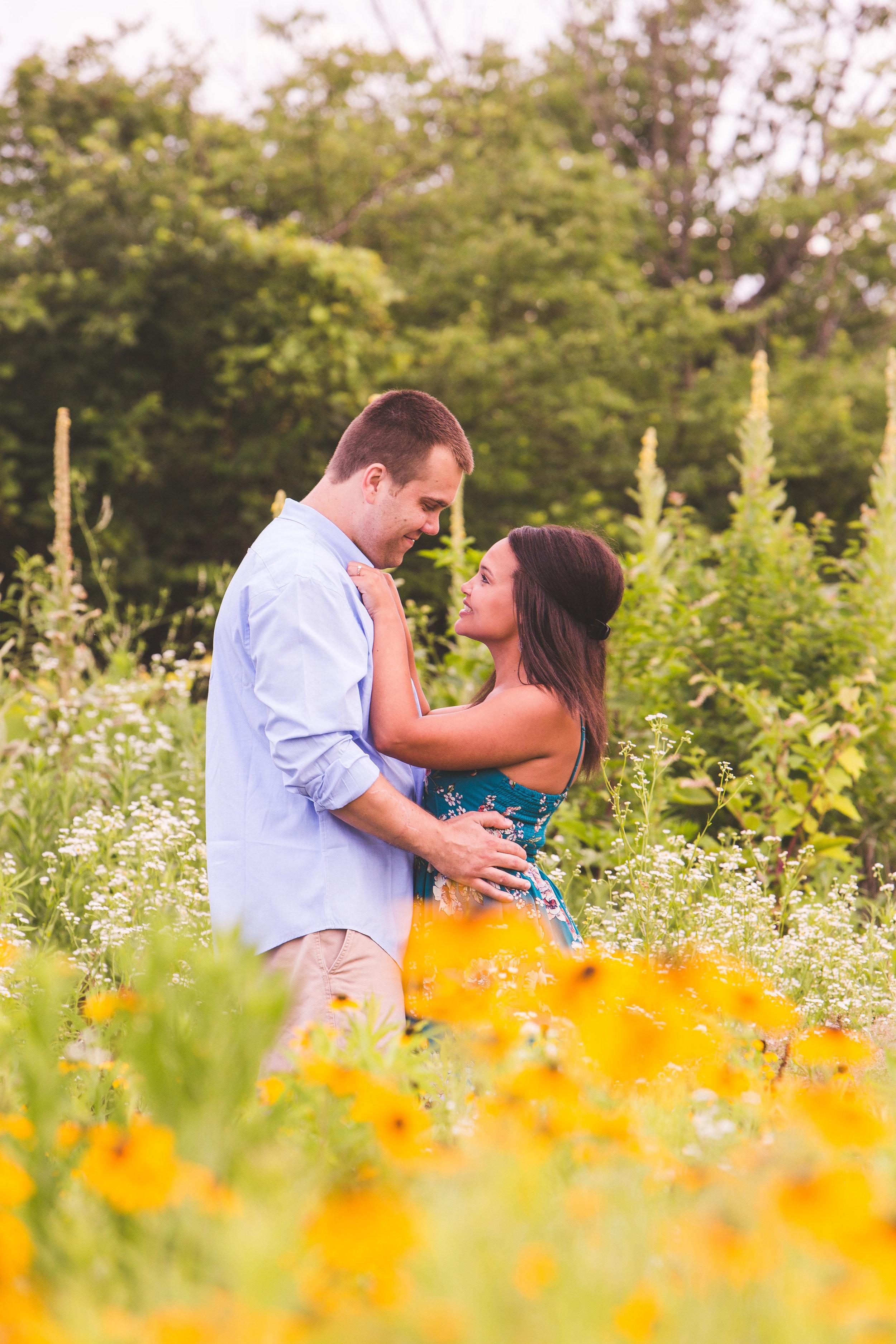 engagement photos in hilliard ohio