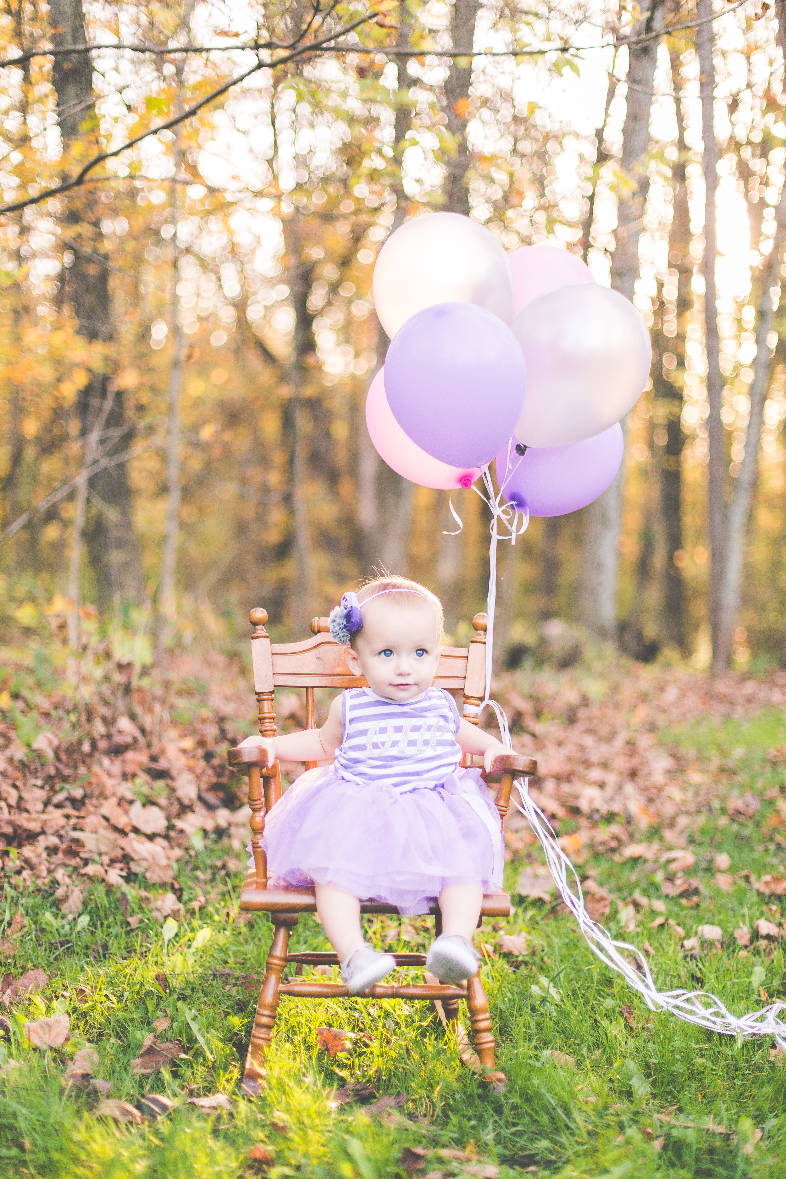 lifestyle outdoor one year old girl dress