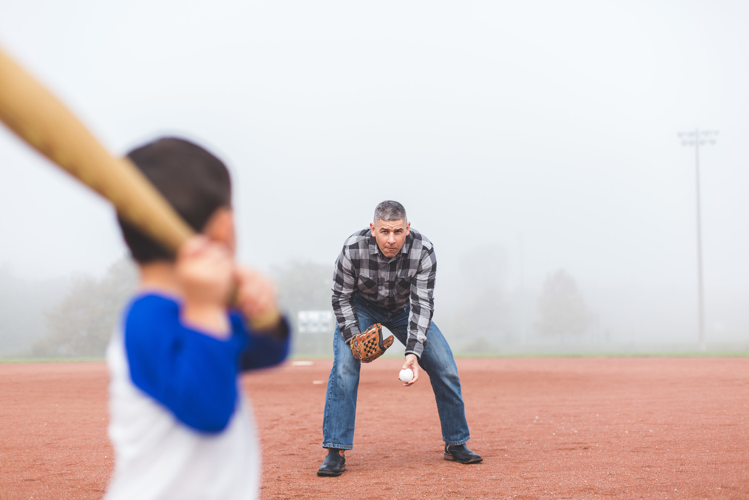 father son baseball lifestyle baseball diamond