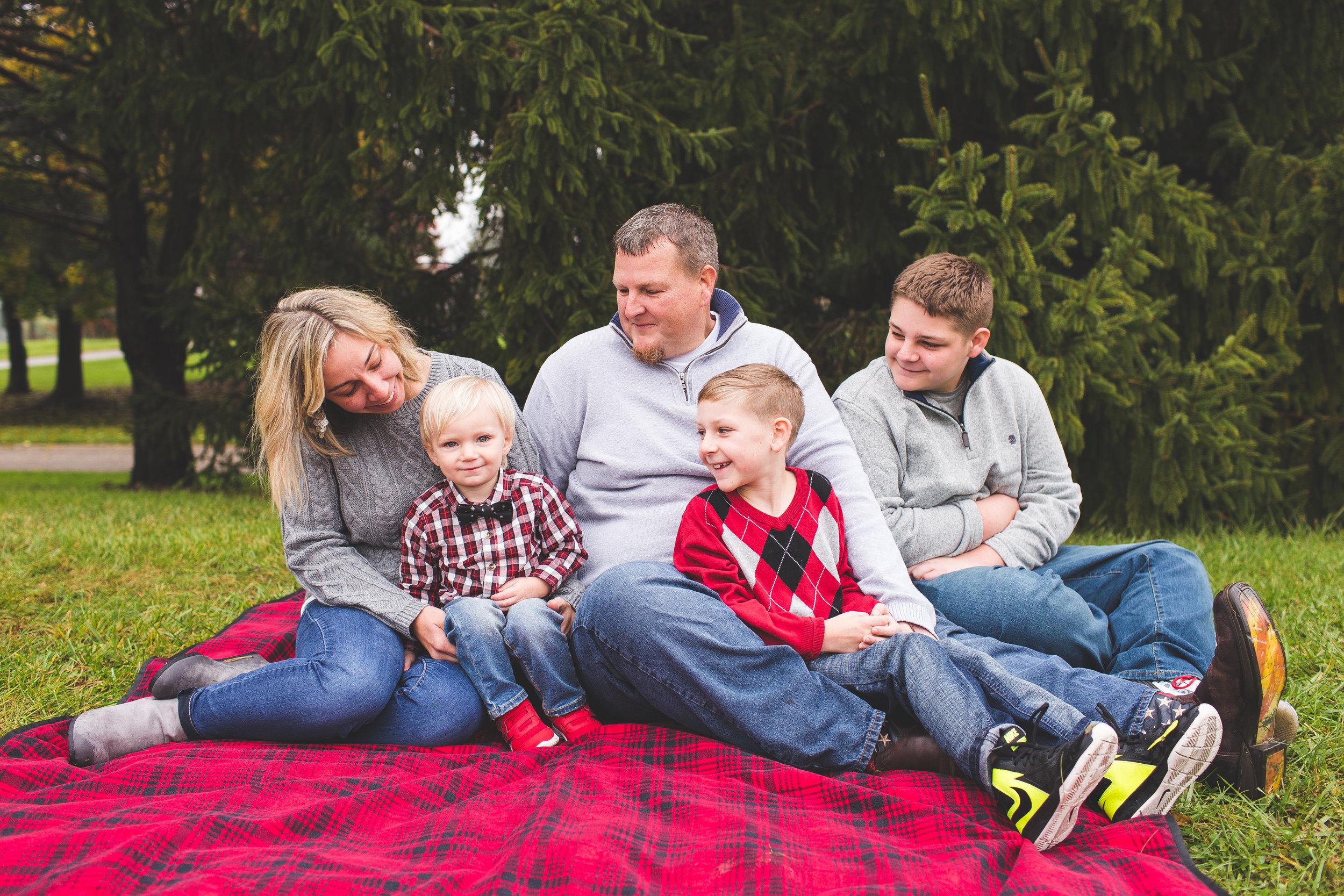 Family Lifestyle Mini Session Hilliard Ohio
