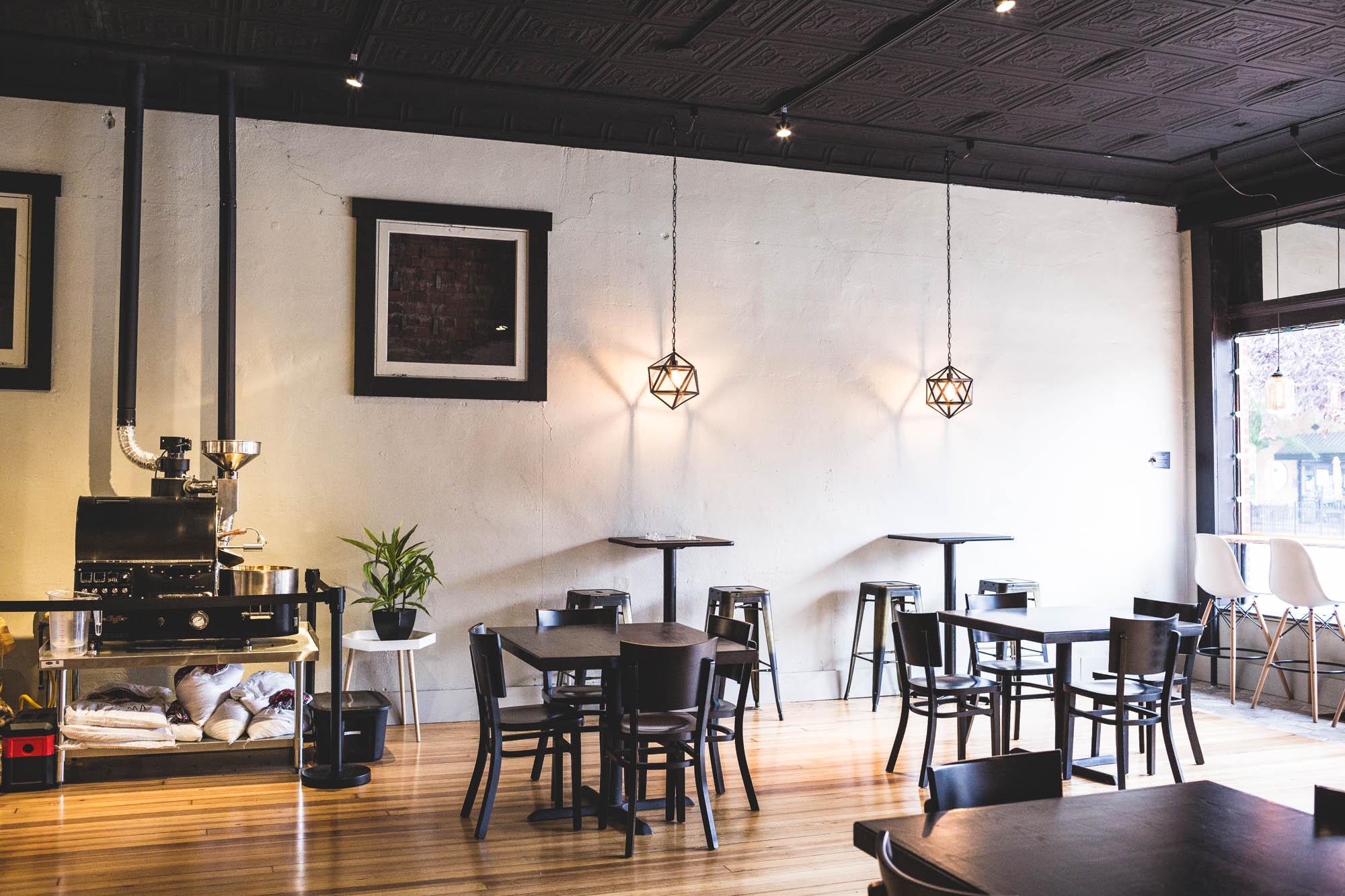 Transcend coffee shop interior modern
