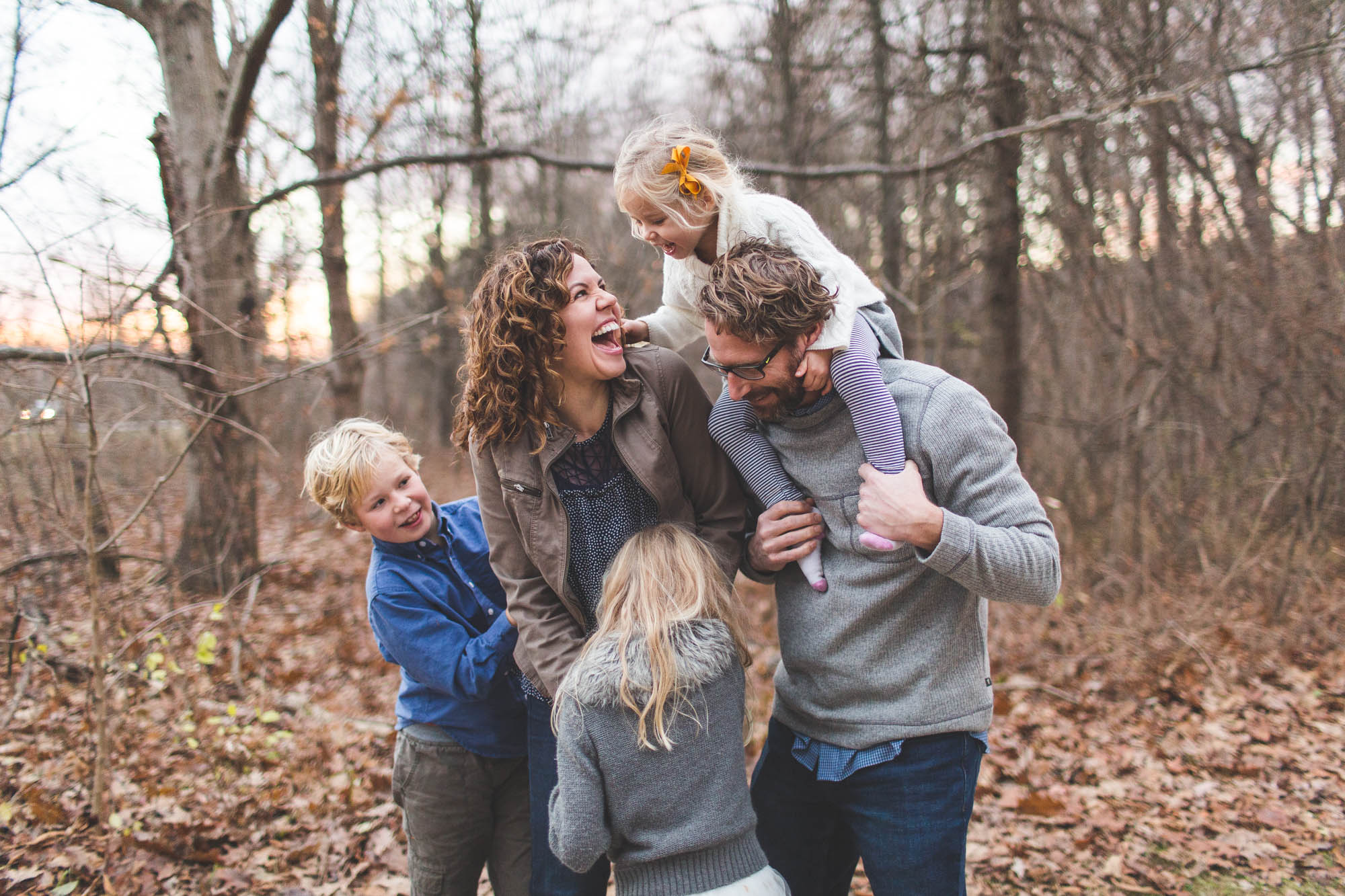 Lifestyle family session Lewis Center Ohio