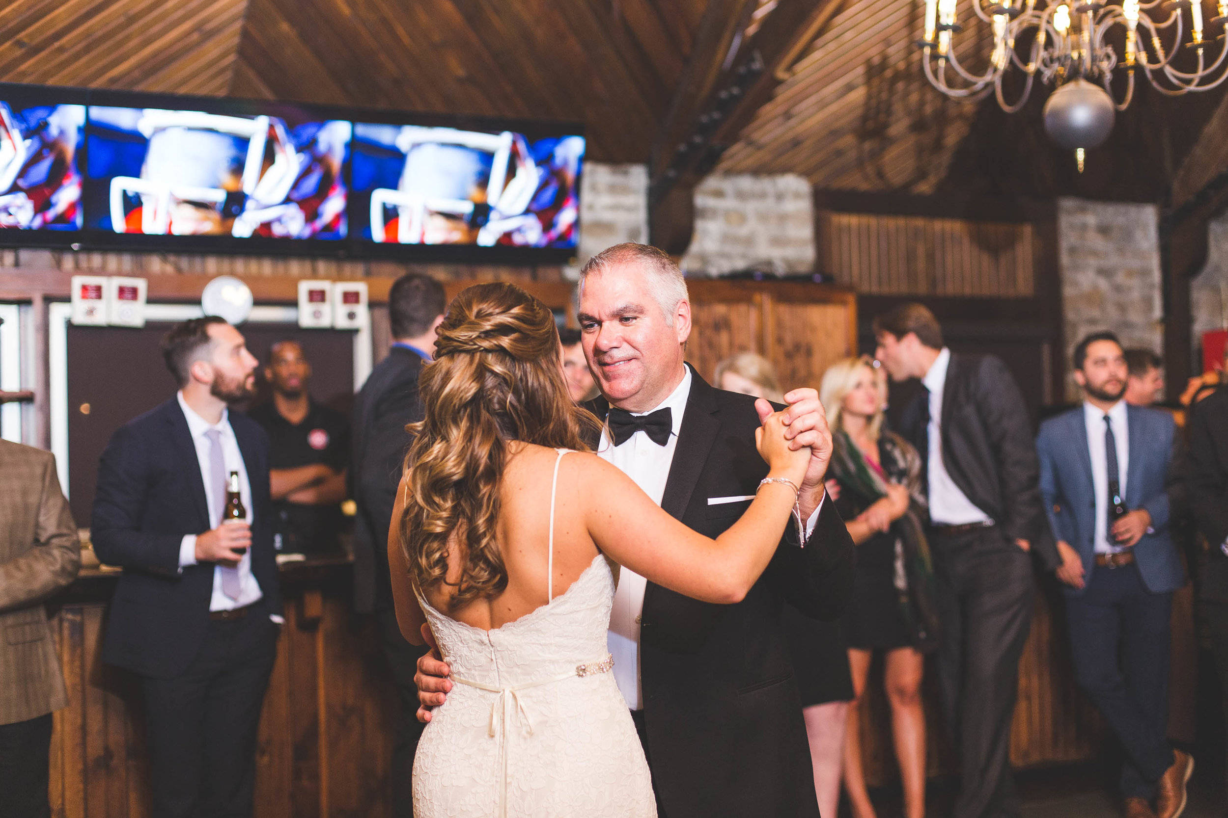 bride and father first dance columbus ohio osu golf club