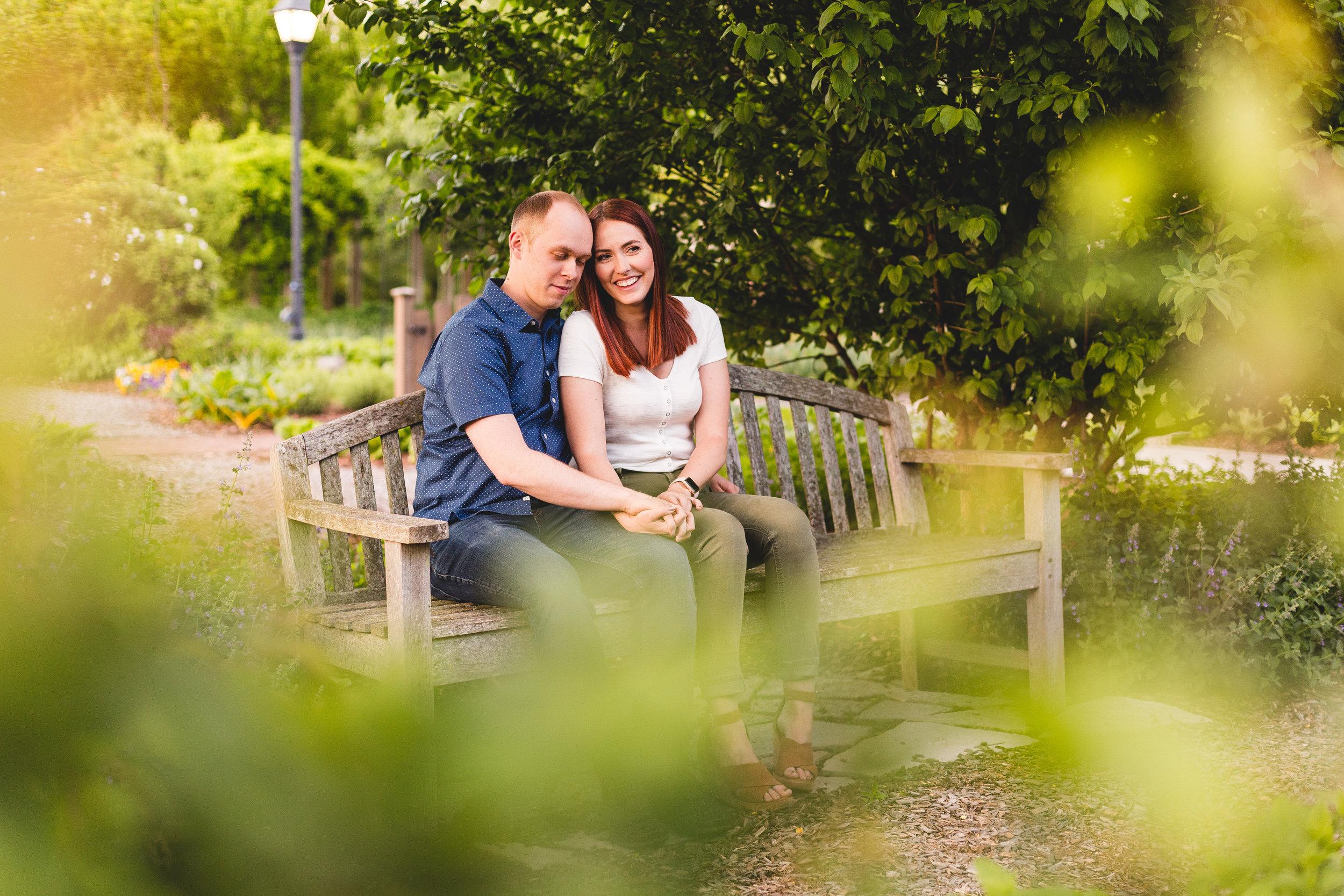 engagement photos in columbus ohio